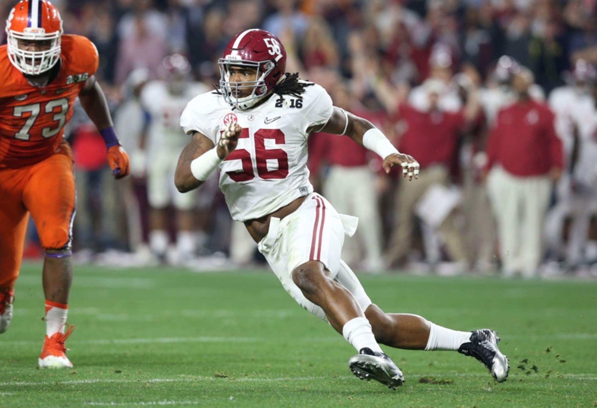 2017 NFL Draft: Alabama Tim Williams Scouting Report