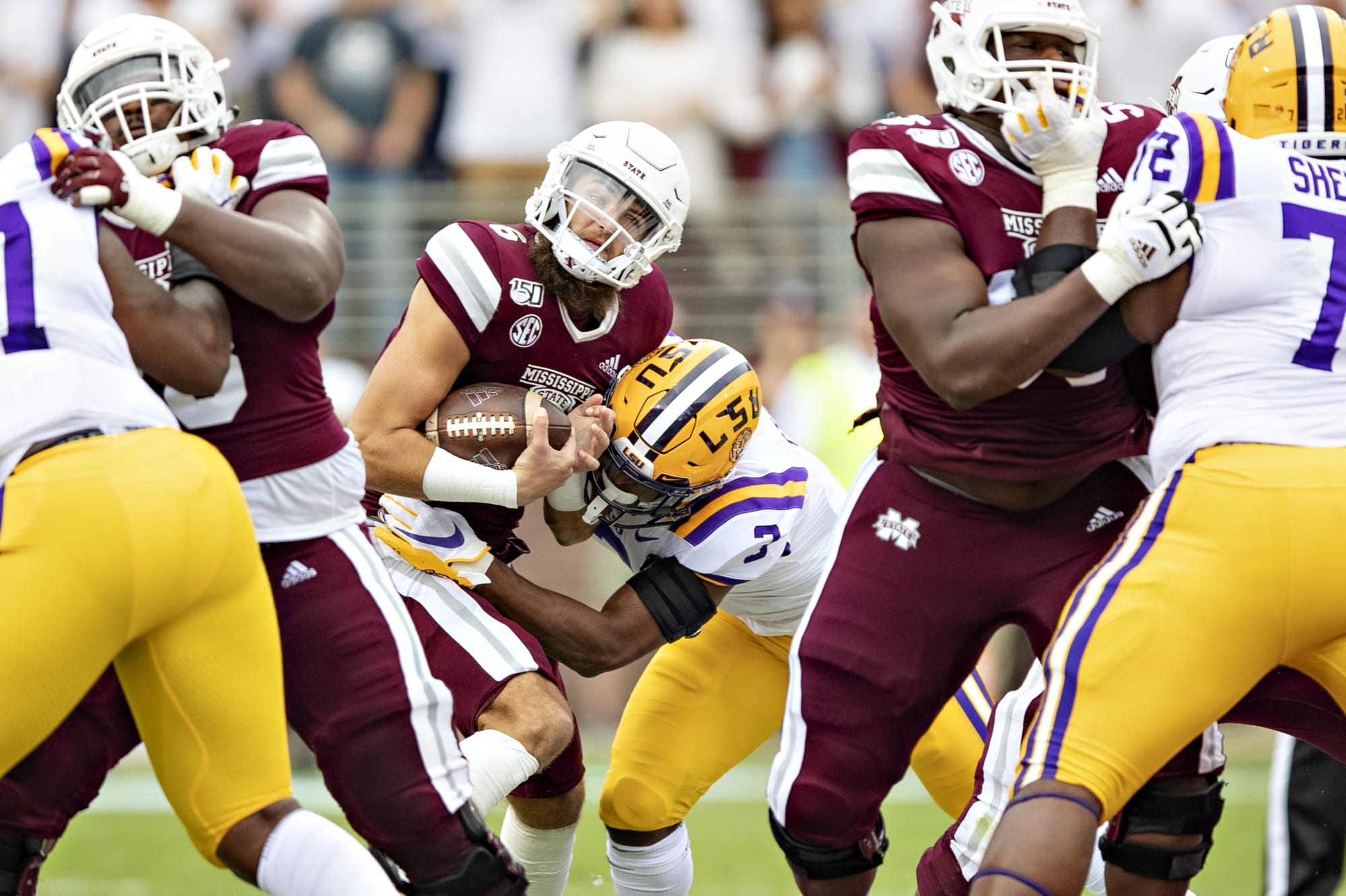 2021 NFL Draft: Prospect Watch for Miss. State vs. LSU