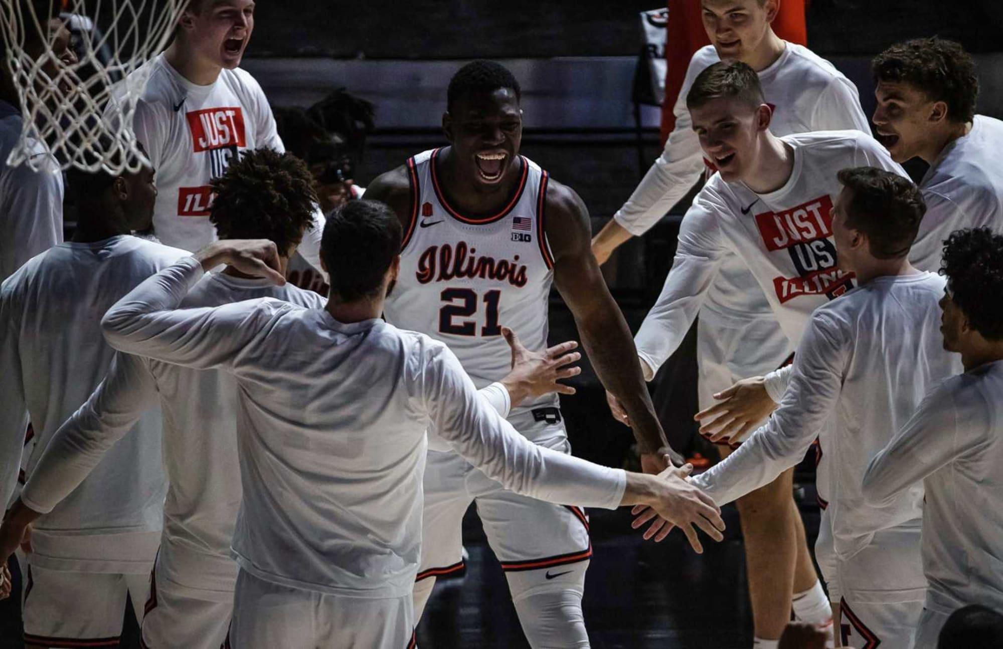 Illinois Basketball: Projected Illini lineup with Kofi Cockburn returning