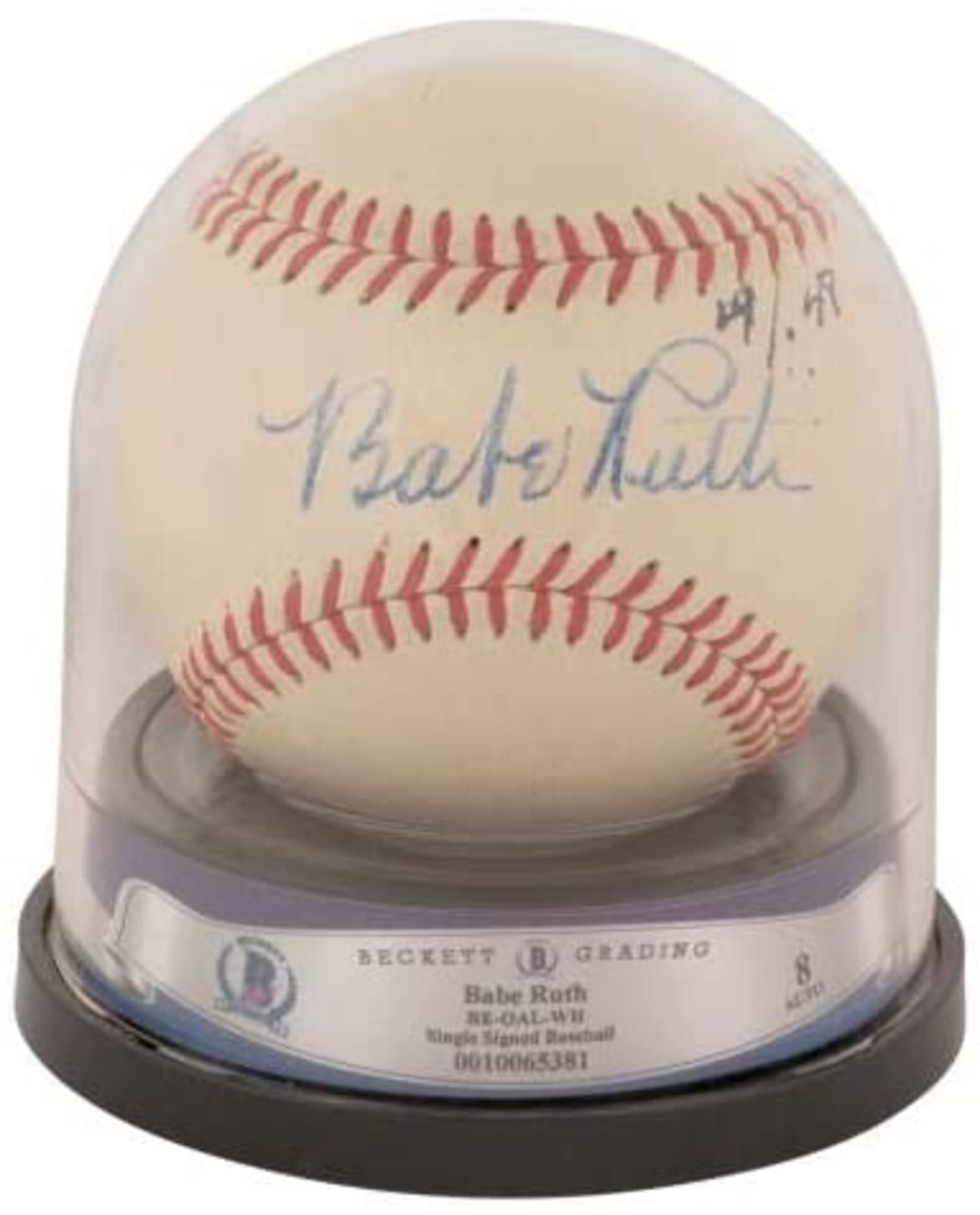 Big Bucks For The Bambino: Can you afford this Babe Ruth signed ball?