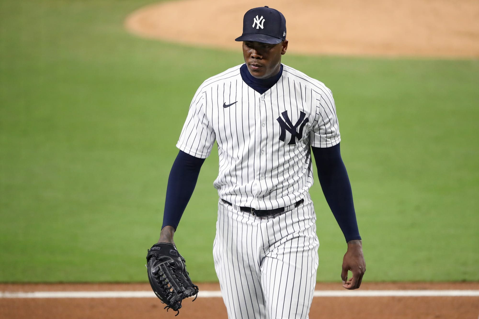 Yankees: This insane stat proves Aroldis Chapman just isn't made for the postseason