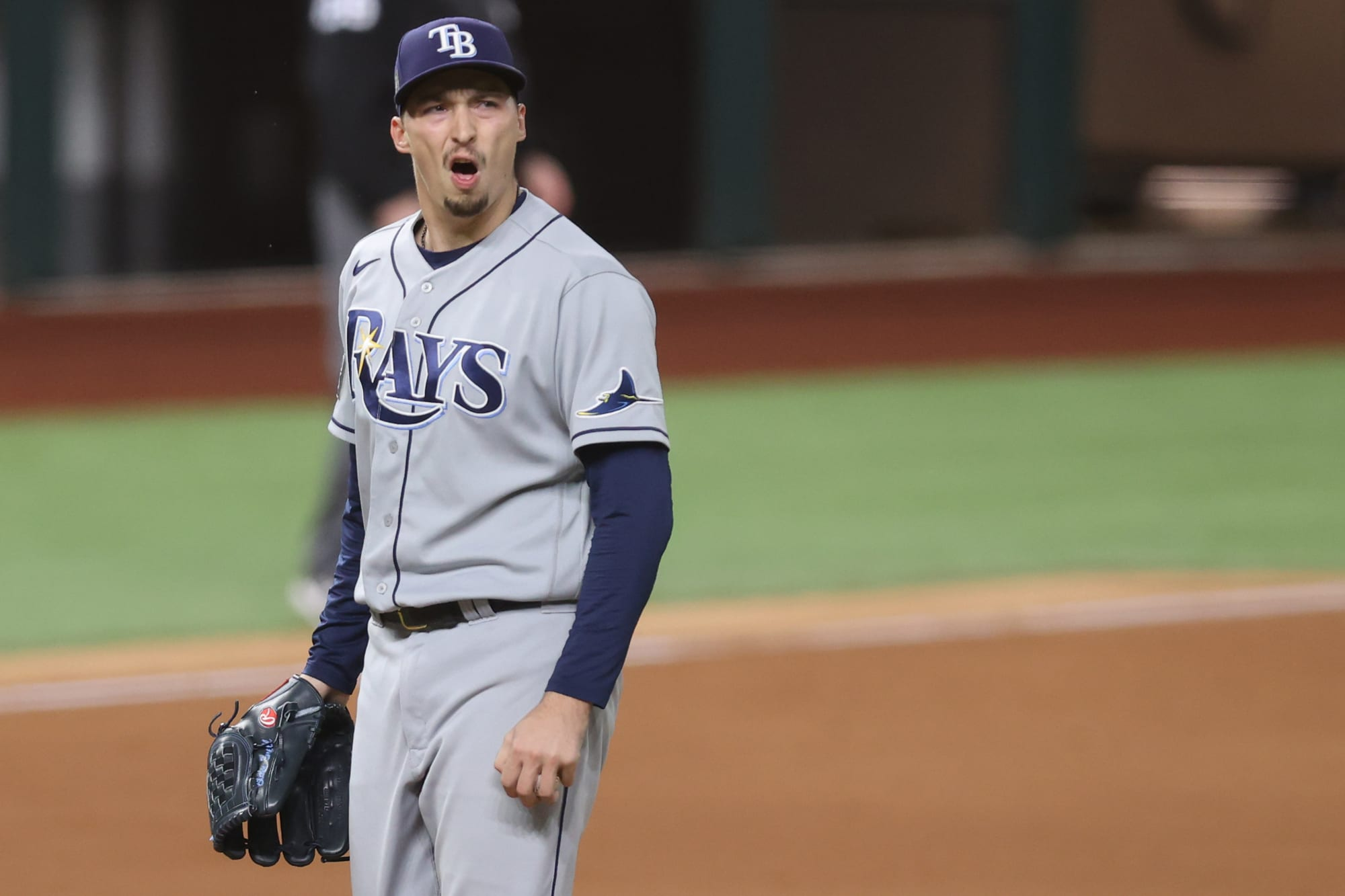 Blake Snell's reaction to Kevin Cash's decision that blew the World Series is perfect