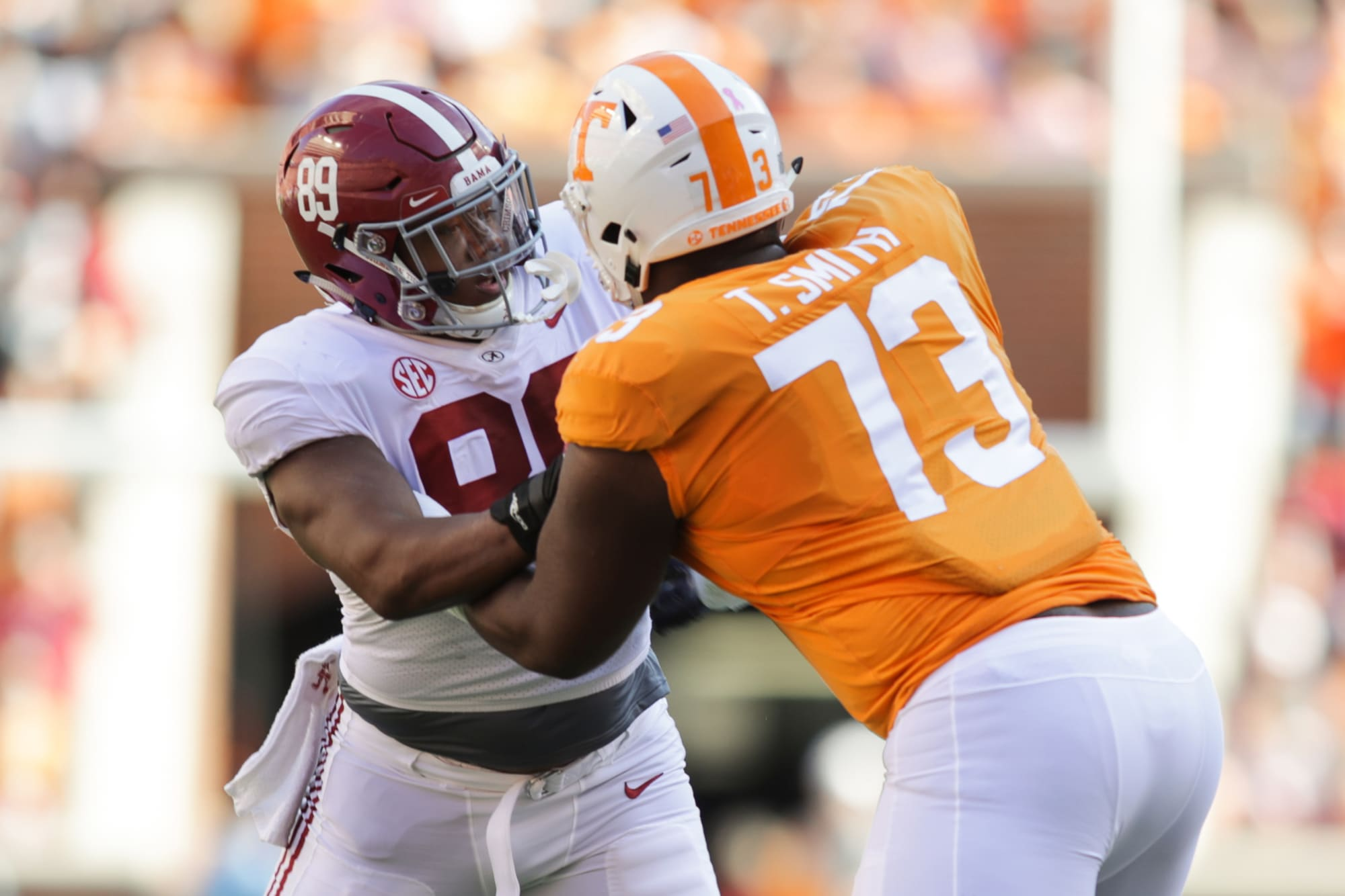Tennessee football: Five Vols to watch for against Alabama ...