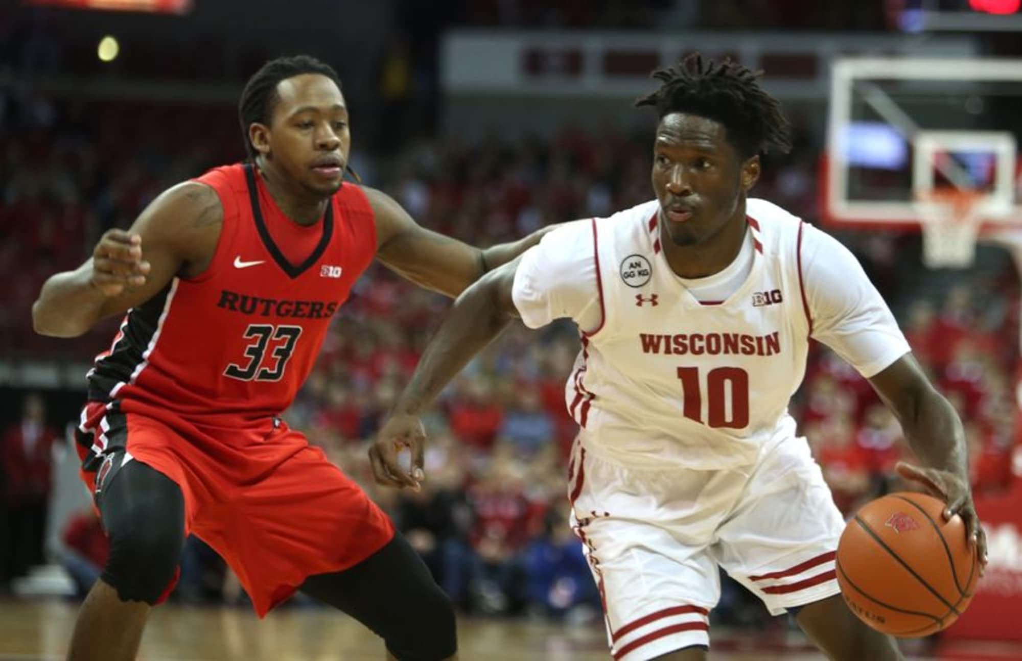 Badgers open up Big Ten play with 72-52 win over Rutgers