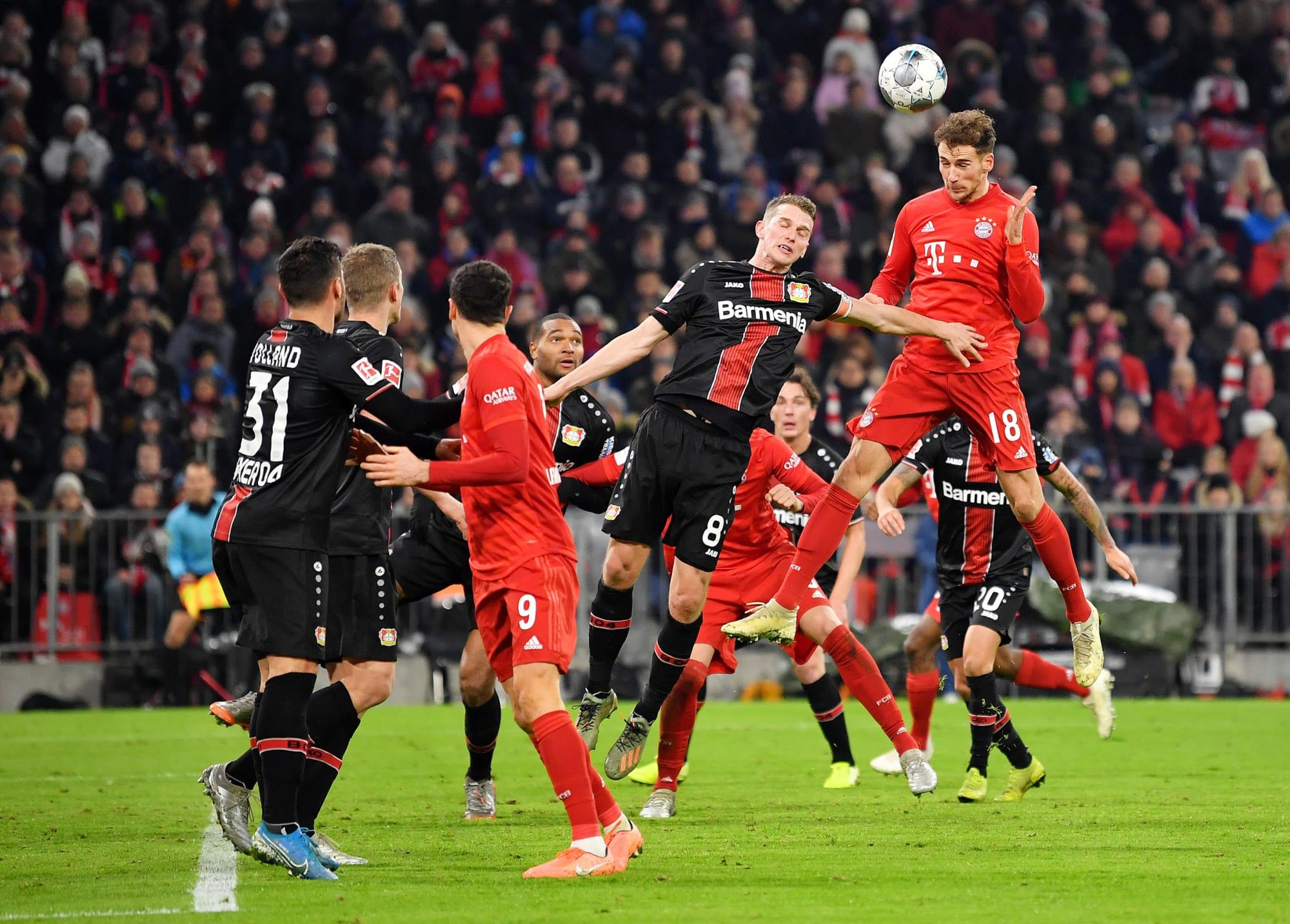 Bayern Bayer Leverkusen