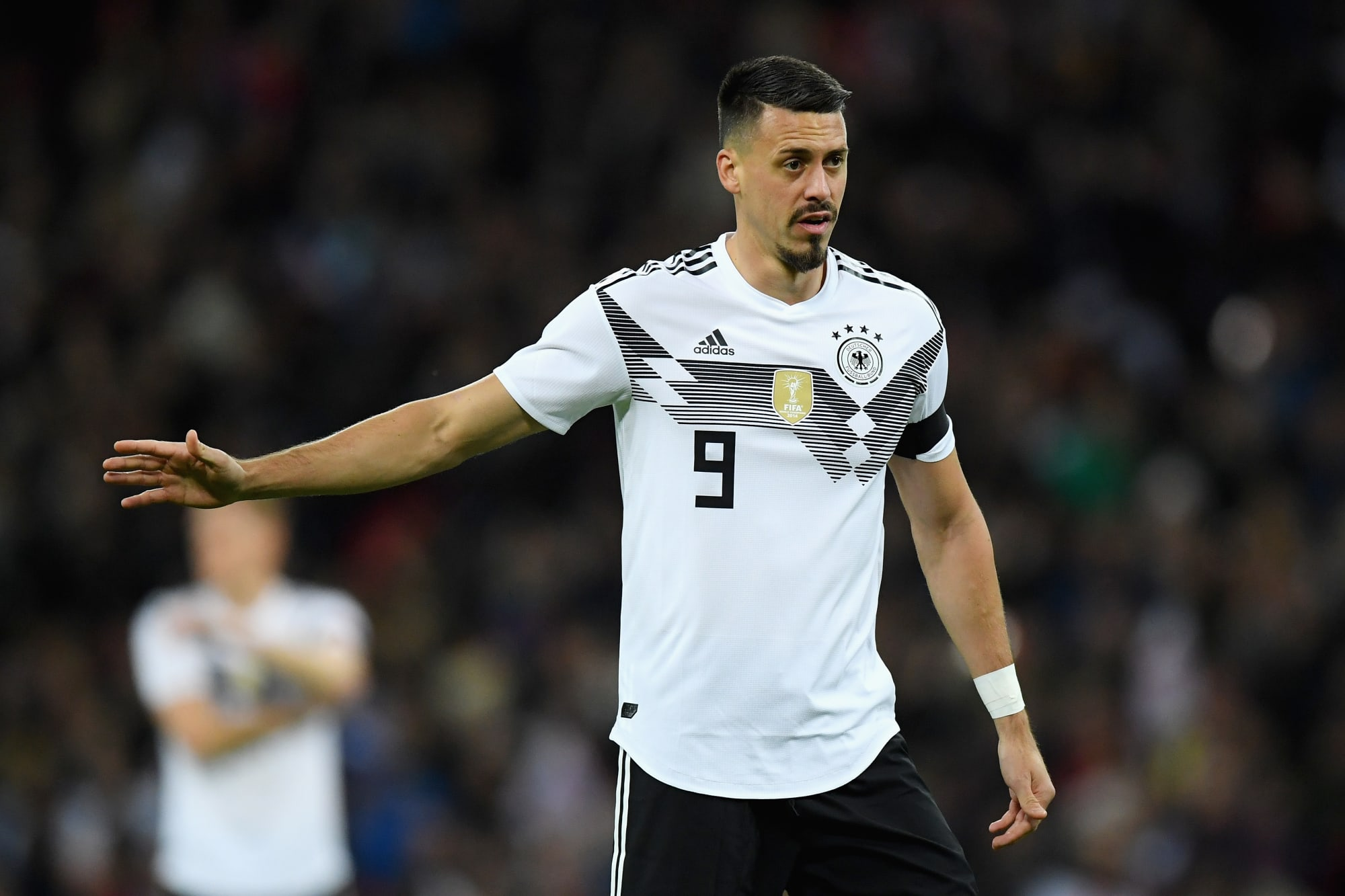 Bayern Munich confirm the signing of Sandro Wagner from
