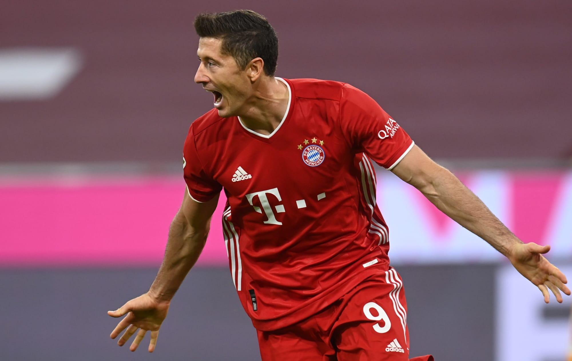 FC Bayern Munich Robert Lewandowski Delivers Another