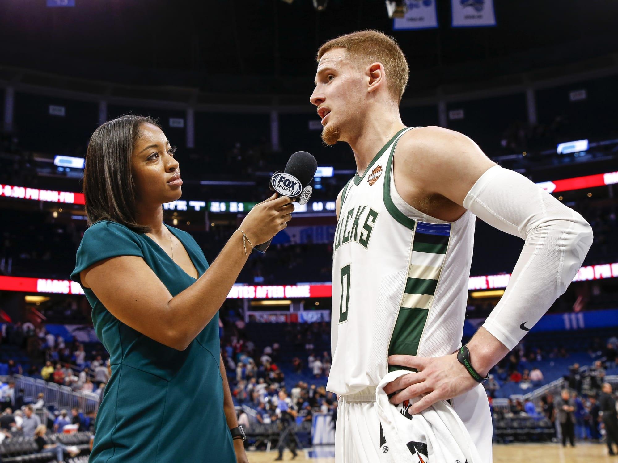 on thoughts  Bucks: Milwaukee Donte shares NBA