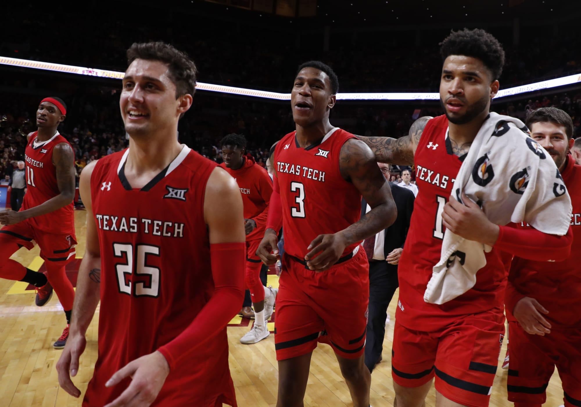NCAA Basketball: Oklahoma Sooners vs Texas Tech Red