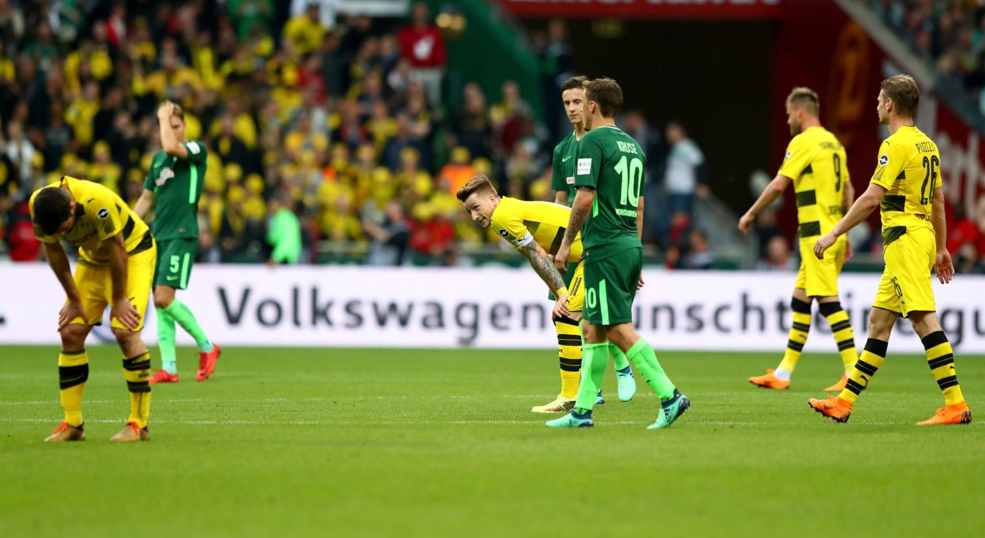 Player Ratings Wasteful Borussia Dortmund Held By Werder