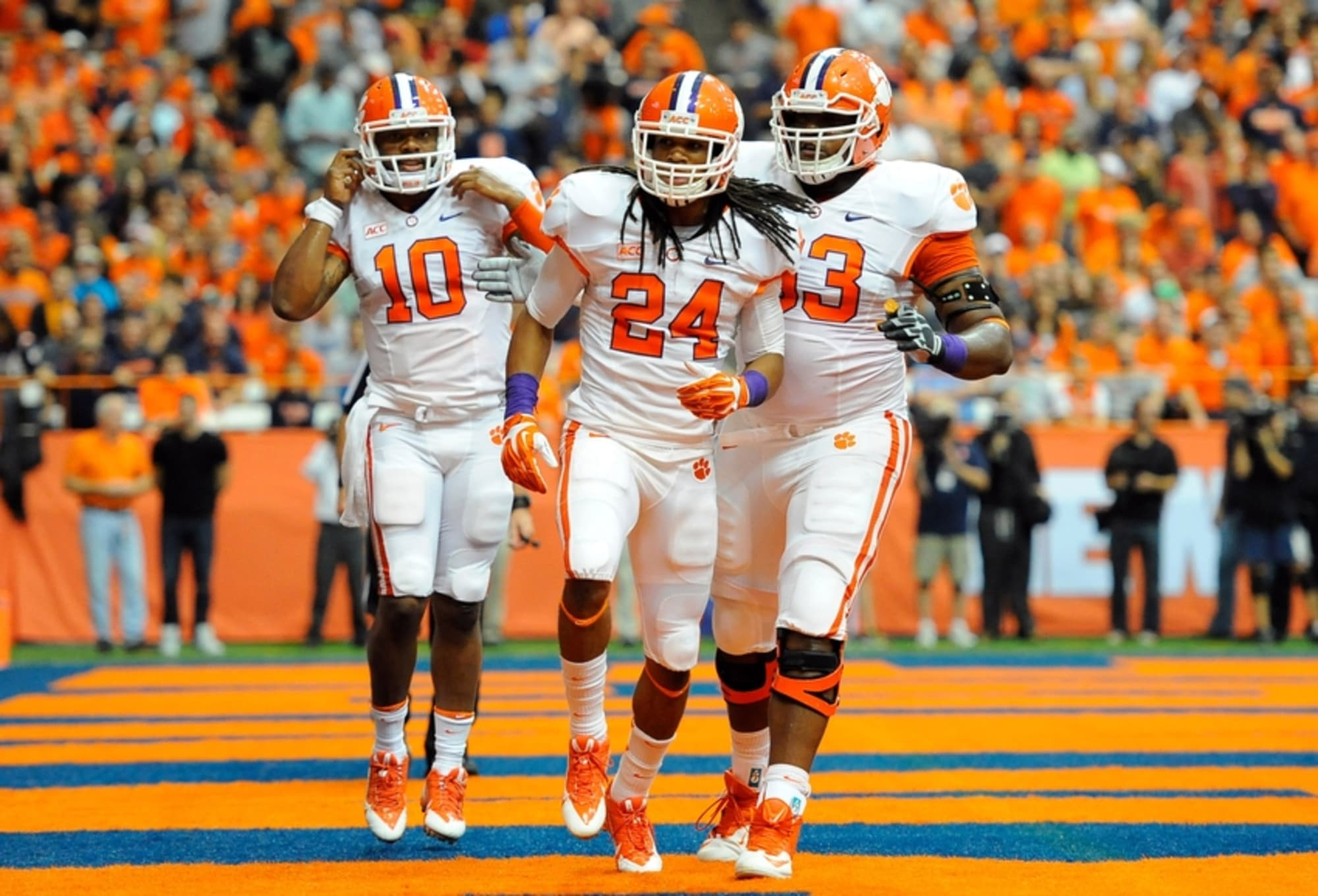 Clemson RB Zac Brooks out for 2014 season