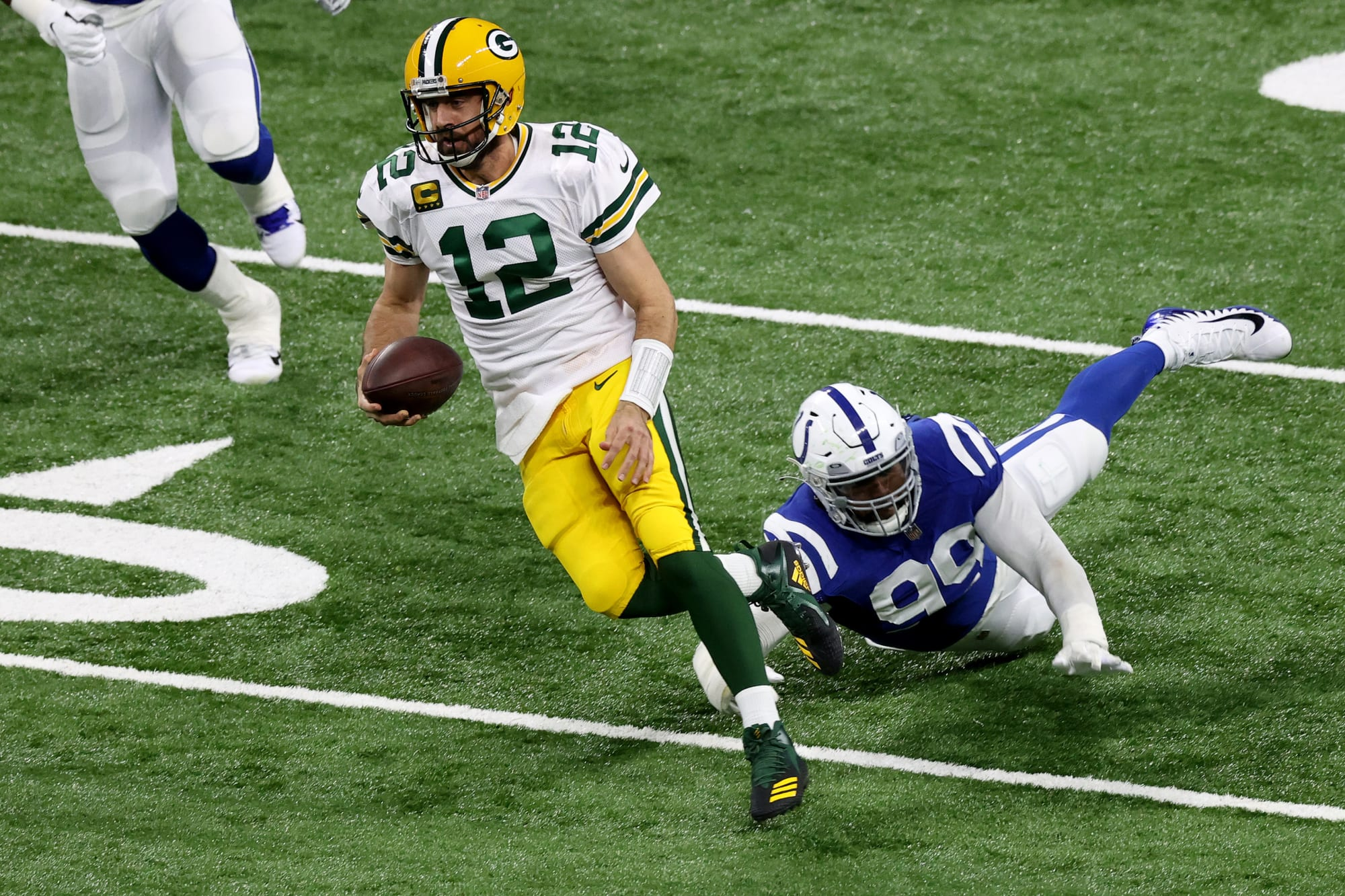 choked should after be  Aaron Rodgers Packers infuriated