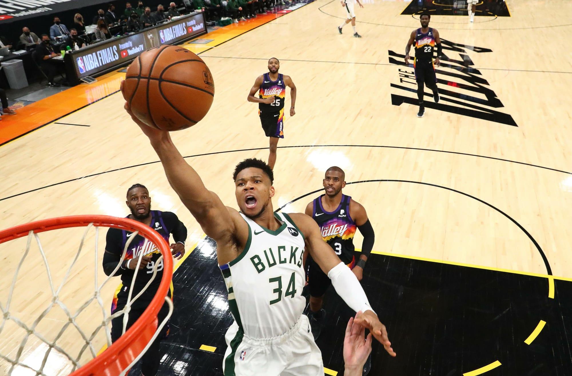 Suns vs Bucks prediction, odds, spread, line, over/under ...