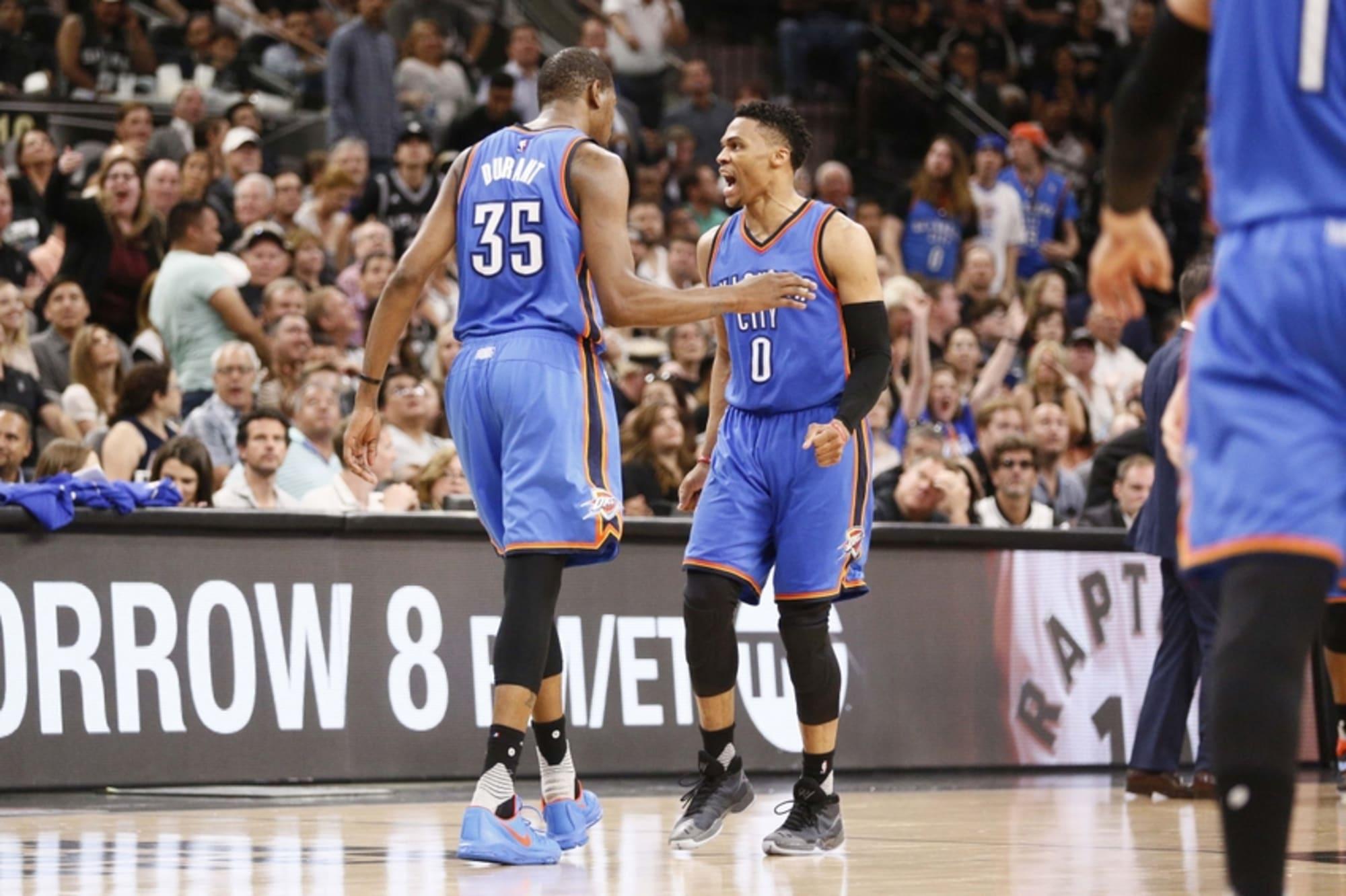 2016 NBA Playoffs: Final Play Of Spurs vs. Thunder Game 2