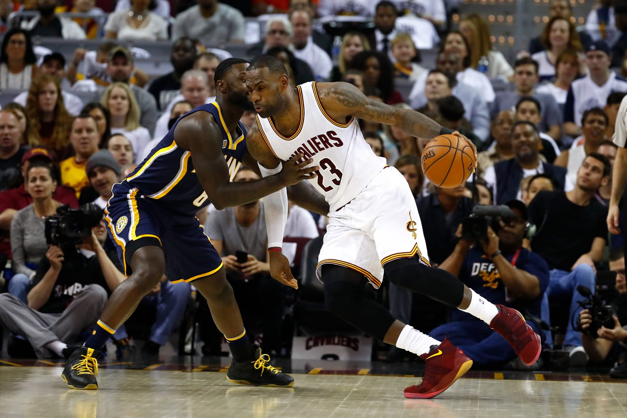 2018 NBA Playoffs: Cleveland Cavaliers vs. Indiana Pacers ...