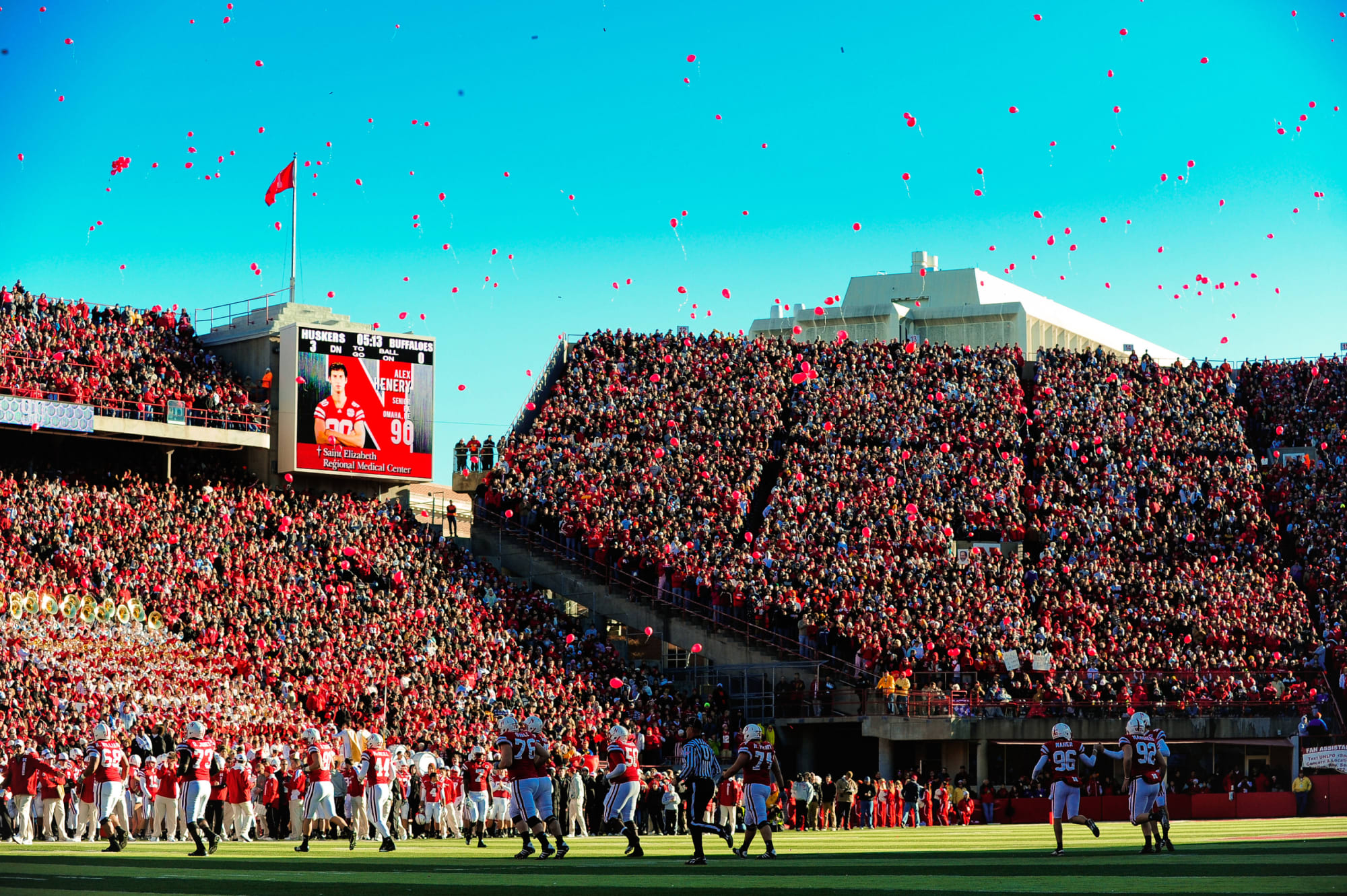 Husker Football Tailgating when the Badgers bail out