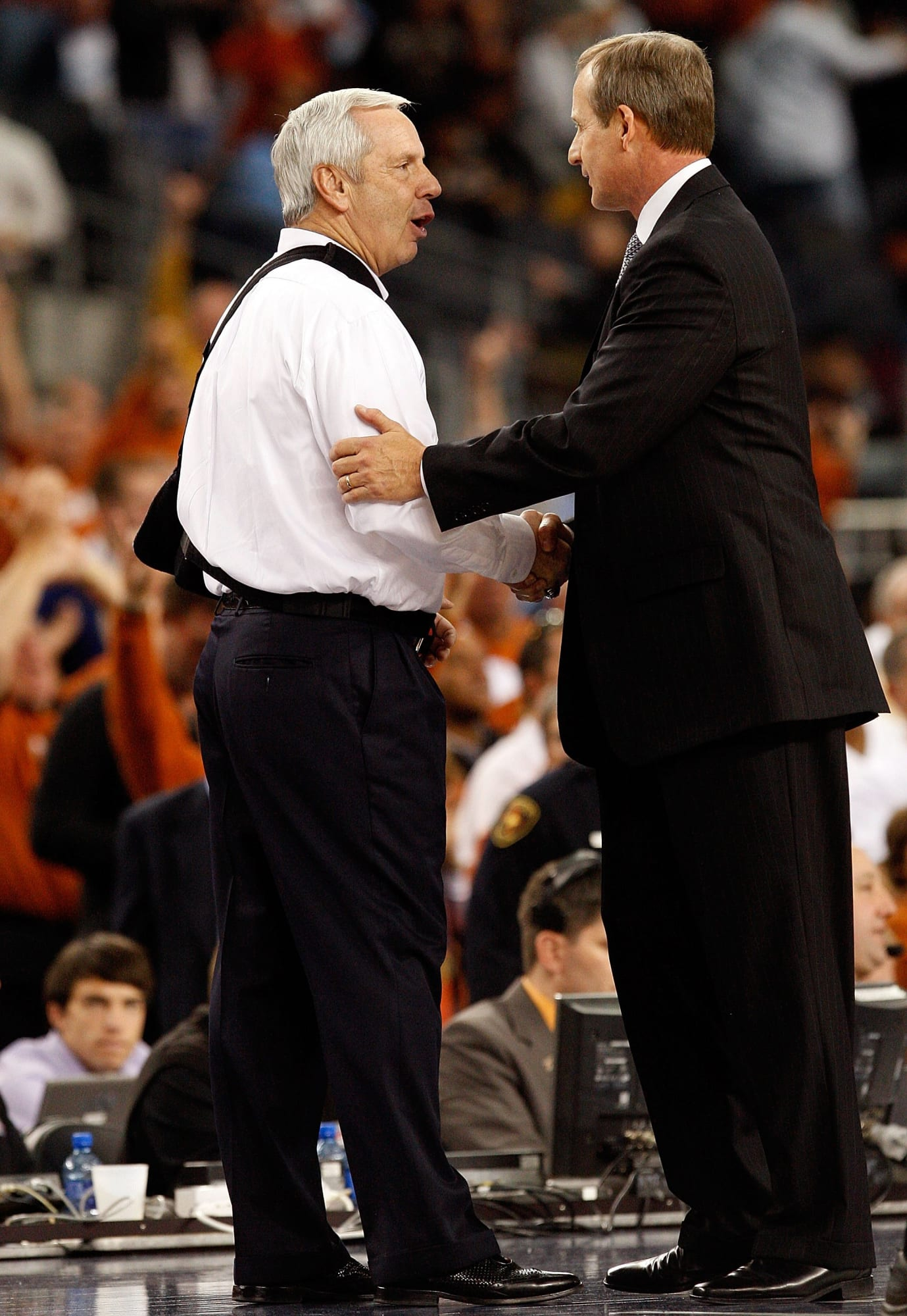 Roy Williams or Rick Barnes? Which coach holds the edge?