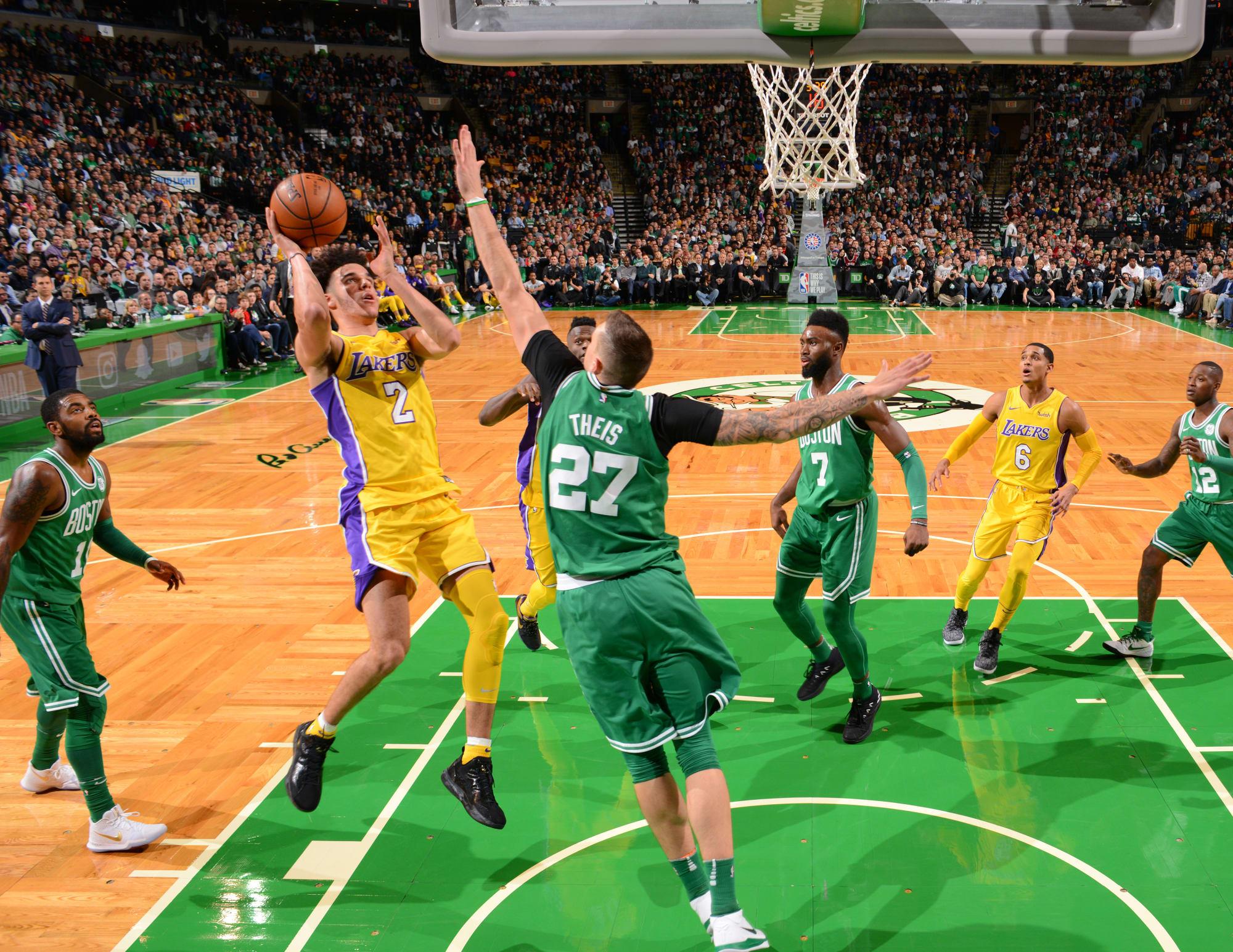 Los Angeles Lakers Vs Boston Celtics Recap And Highlights