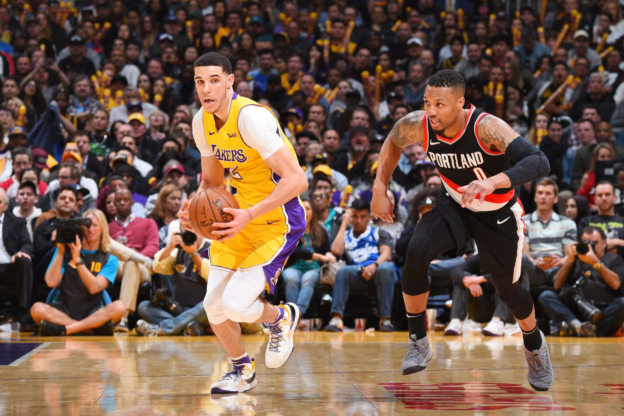 Lakers Portland