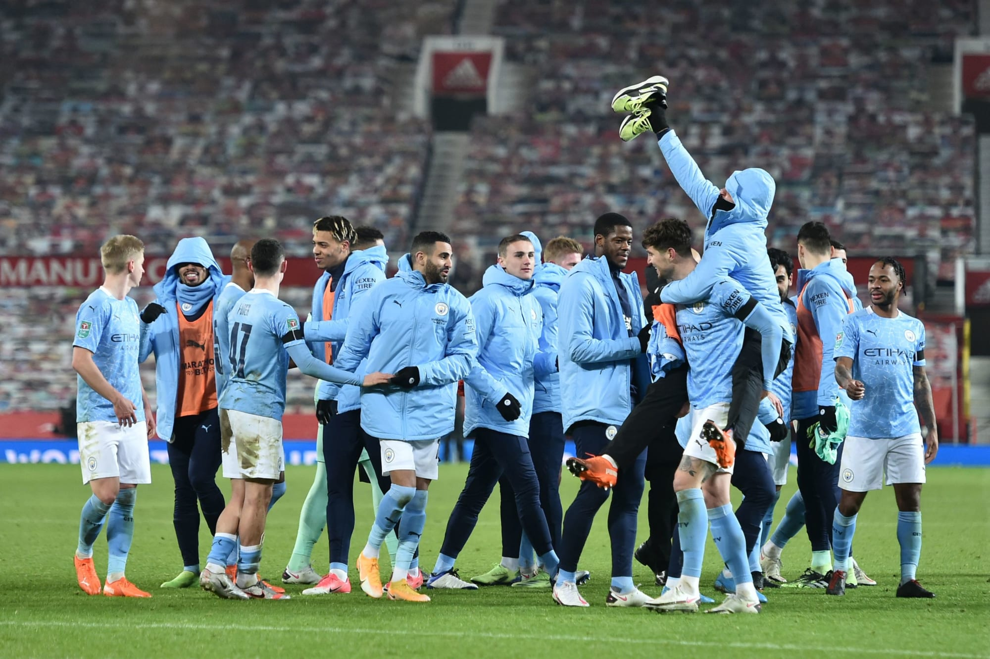 Player Ratings: Manchester City into Carabao Cup Final