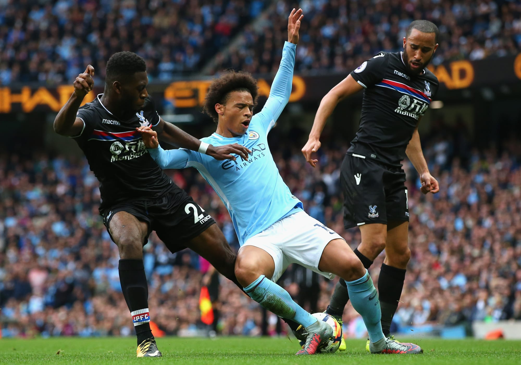 Manchester City: Players Taking On Palace - Page 2