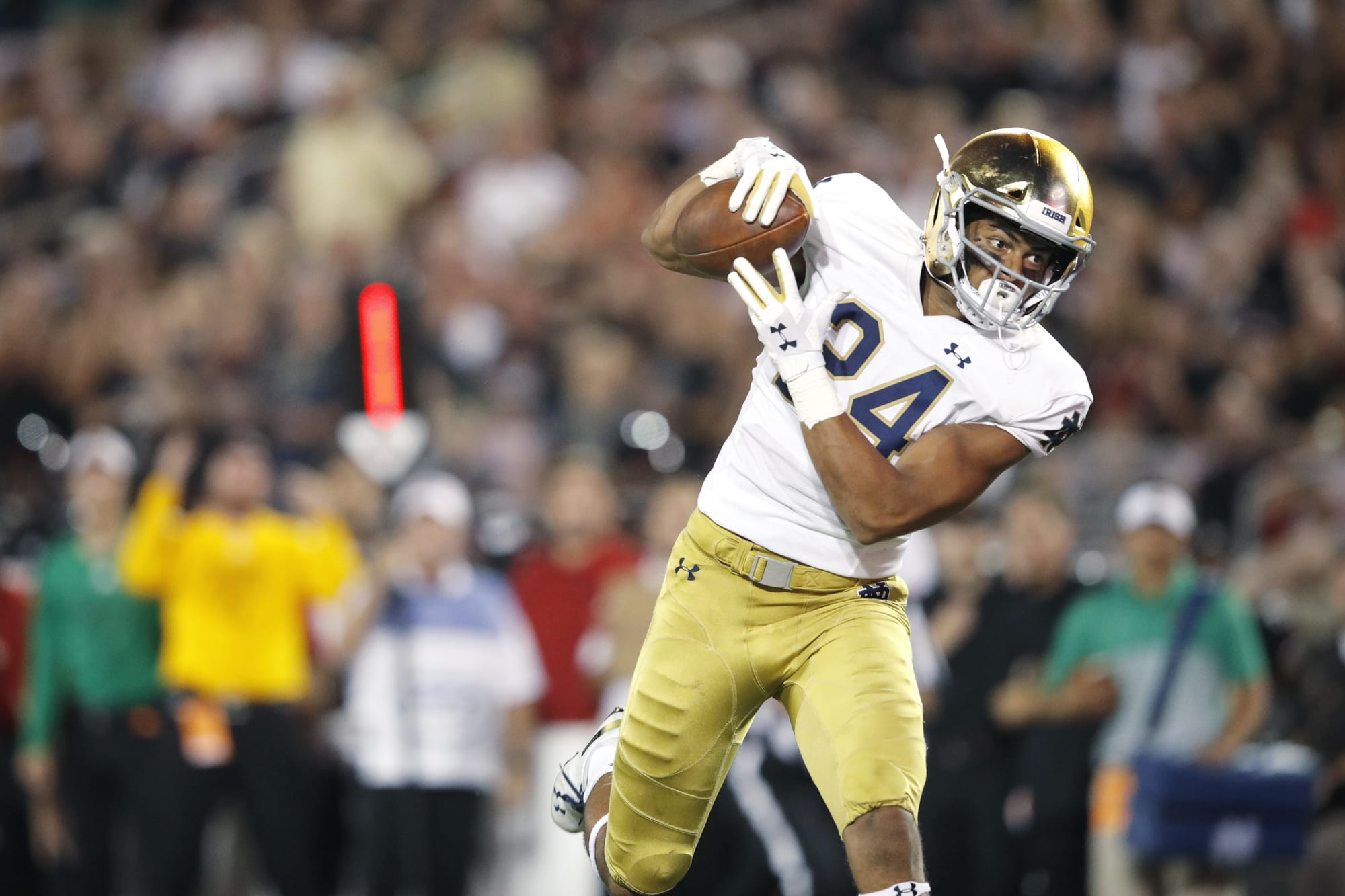 Talented Notre Dame TE Tommy Tremble declares for 2021 NFL ...