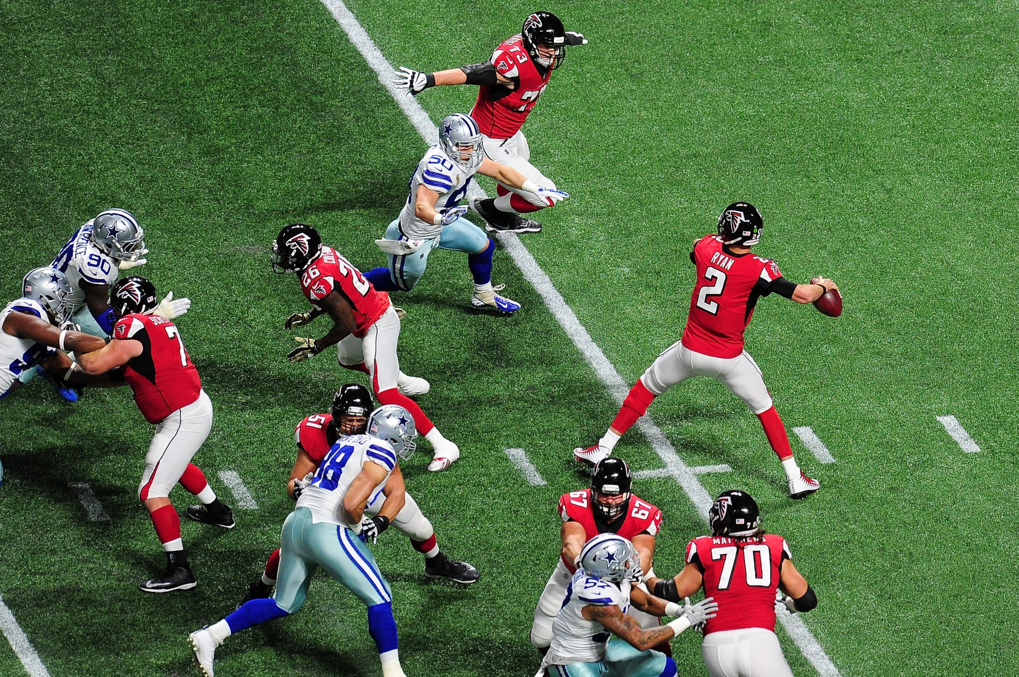 Quarterback power ranking 2017: Atlanta Falcons looking