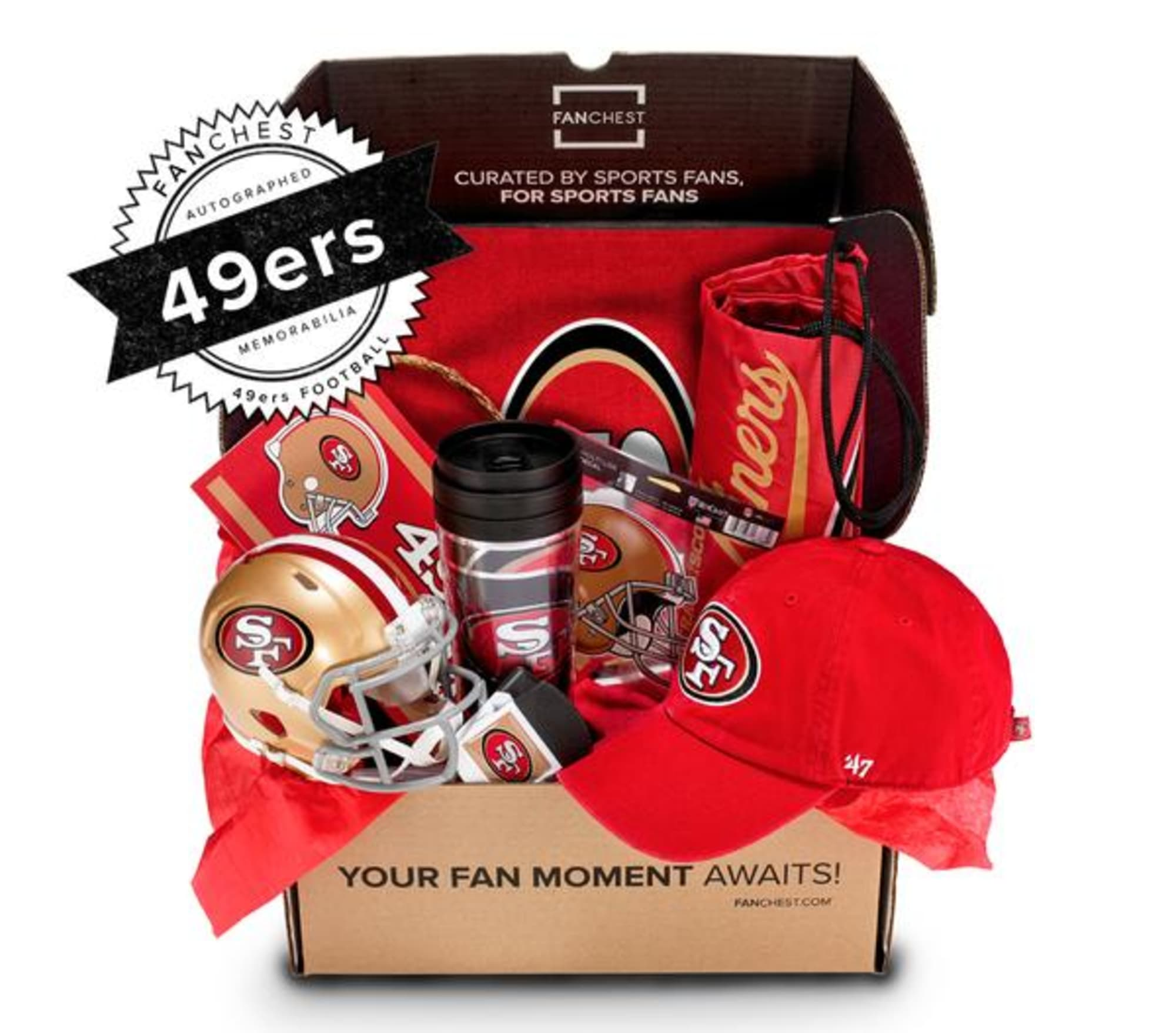 A San Francisco 49ers Fanchest is the perfect holiday gift