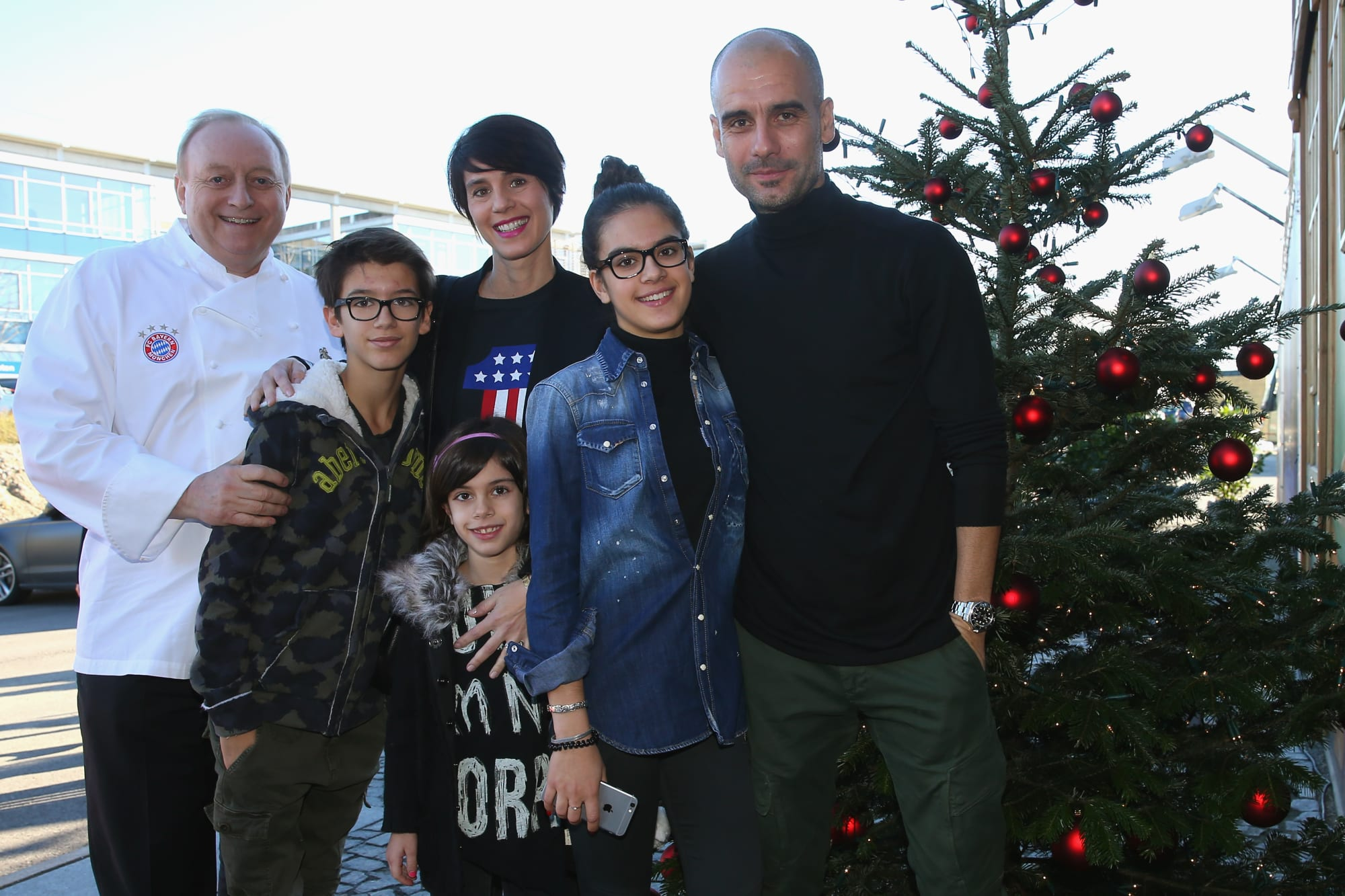 Pep Guardiola's wife links husband to Manchester City