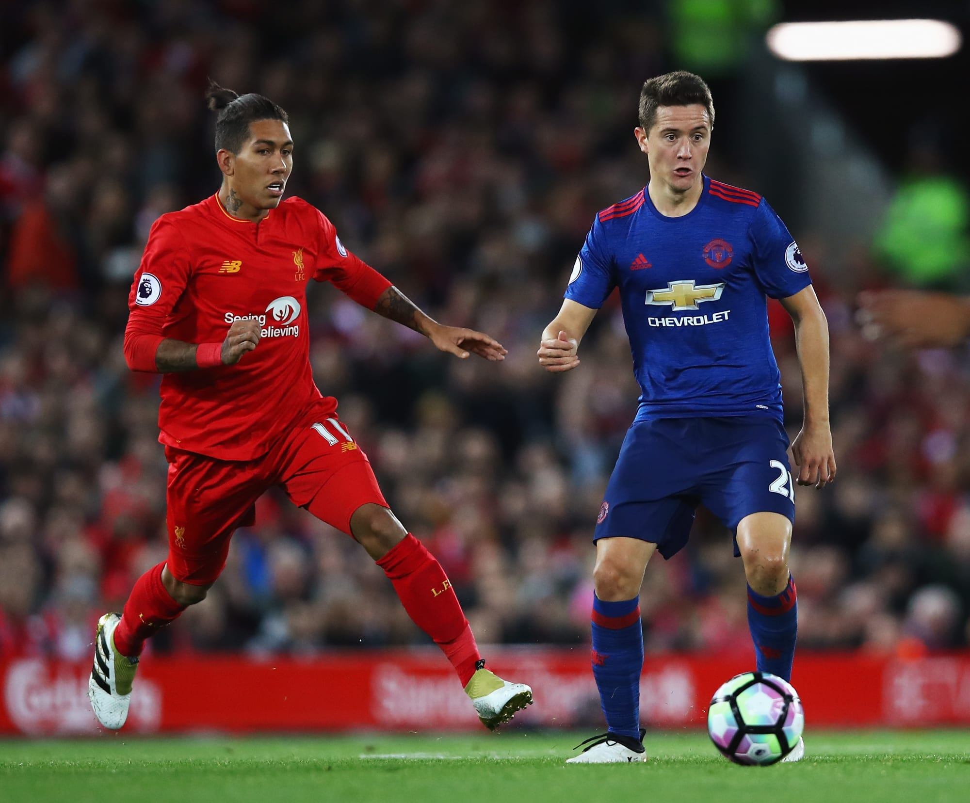 Manchester United v Liverpool: Herrera's chance to show ...
