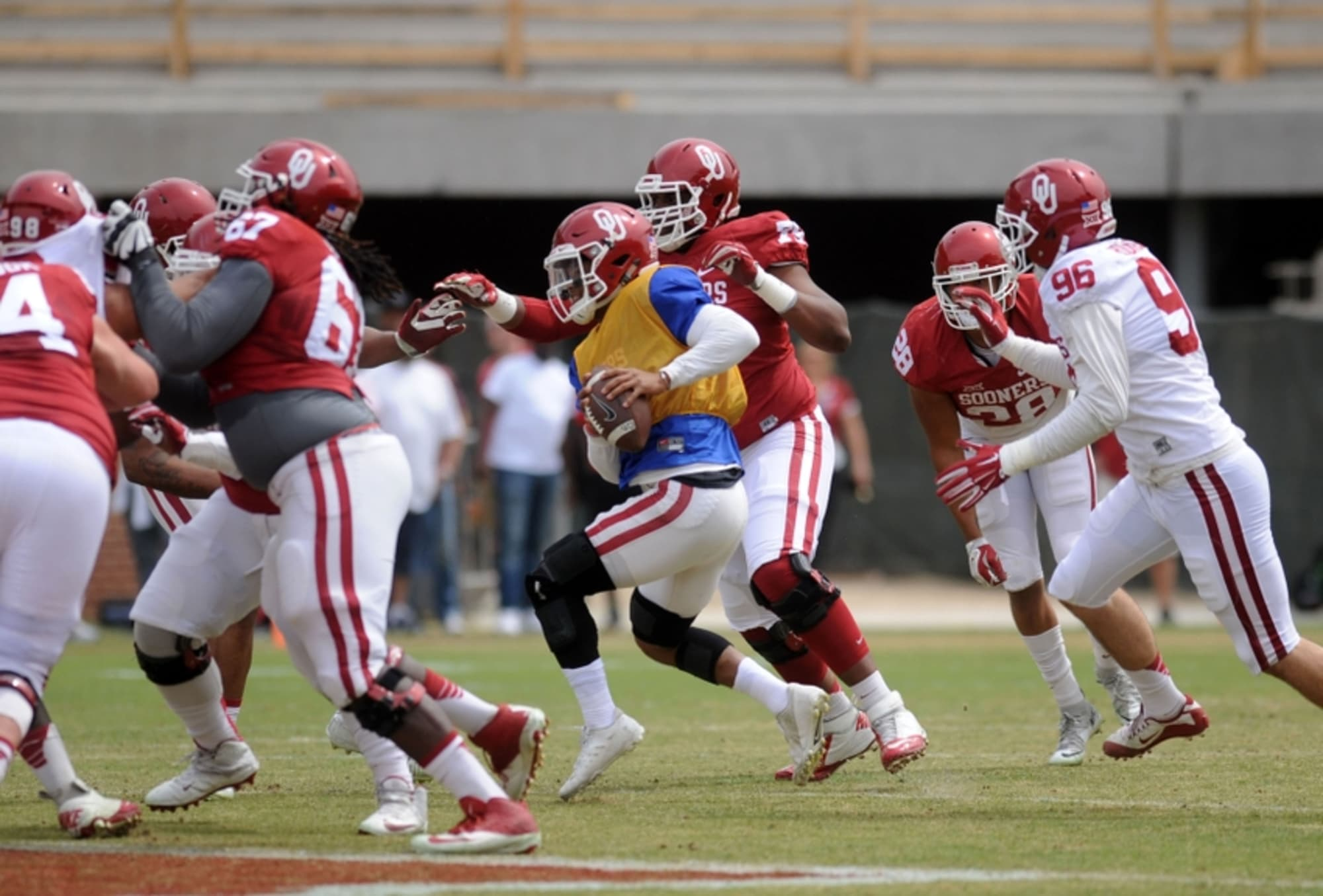 Oklahoma Football Shouldn't Be Hurt by NCAA Ban on ...