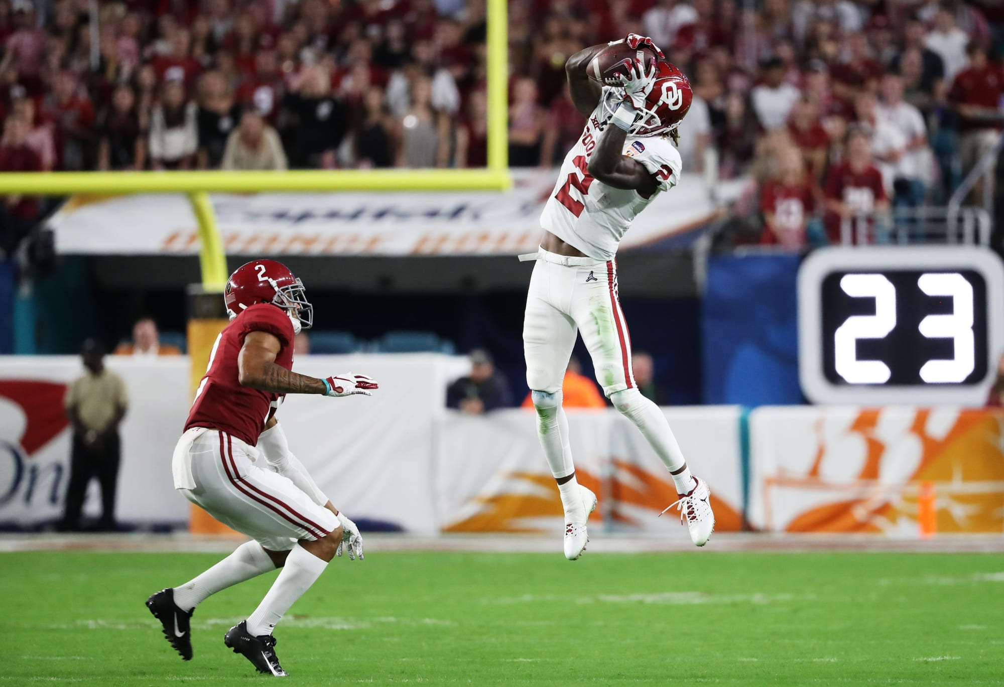 Oklahoma football: Enough about Bama's NFL-ready WRs; OU's ...