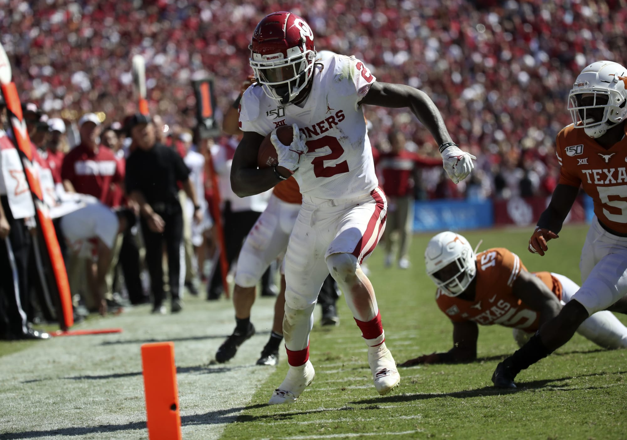 Oklahoma football: Red River Showdown extra pointsOklahoma Football