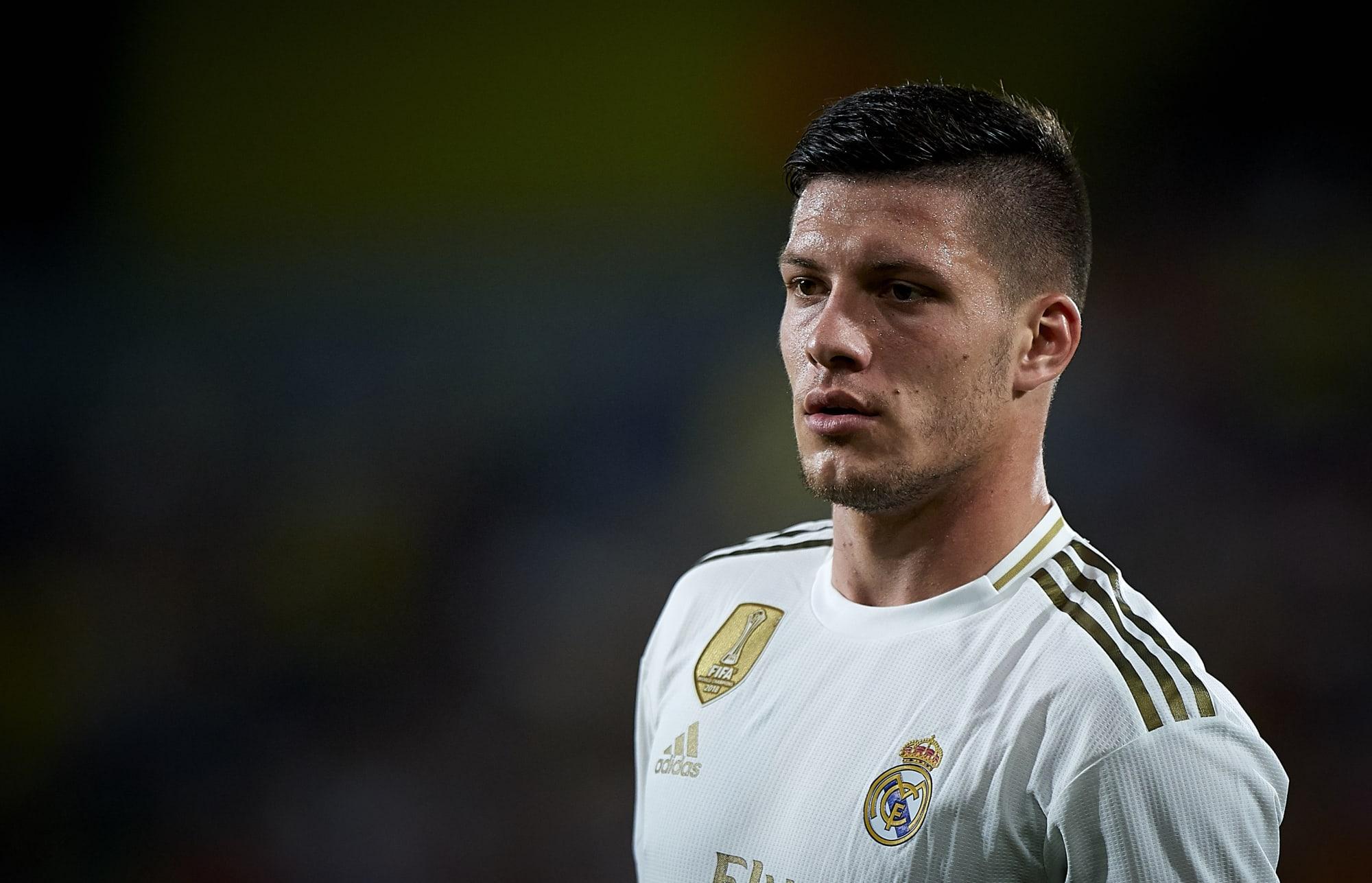 Real Madrid striker Luka Jovic suffers injury during ...