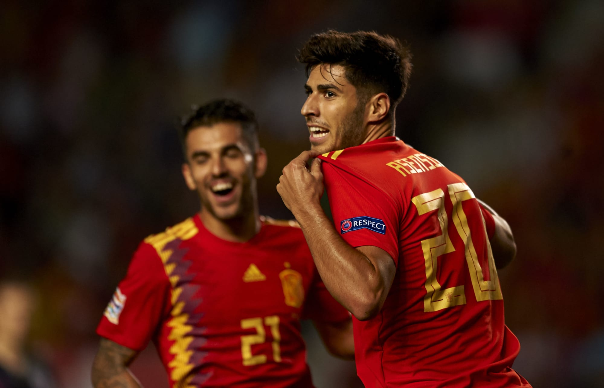 Real Madrid's Marco Asensio is off to an incredible start ...