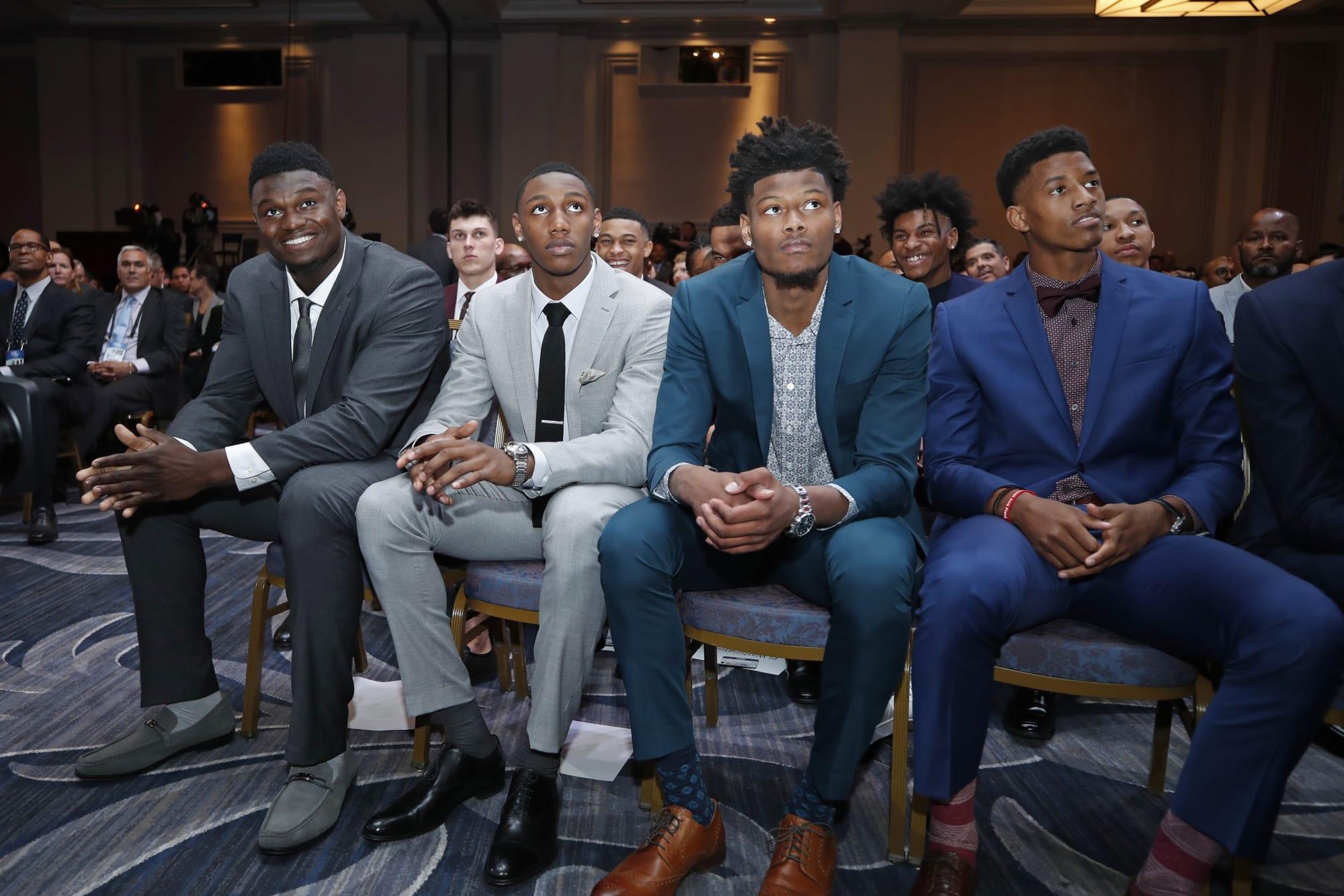 2019 nba draft mock draft featuring all