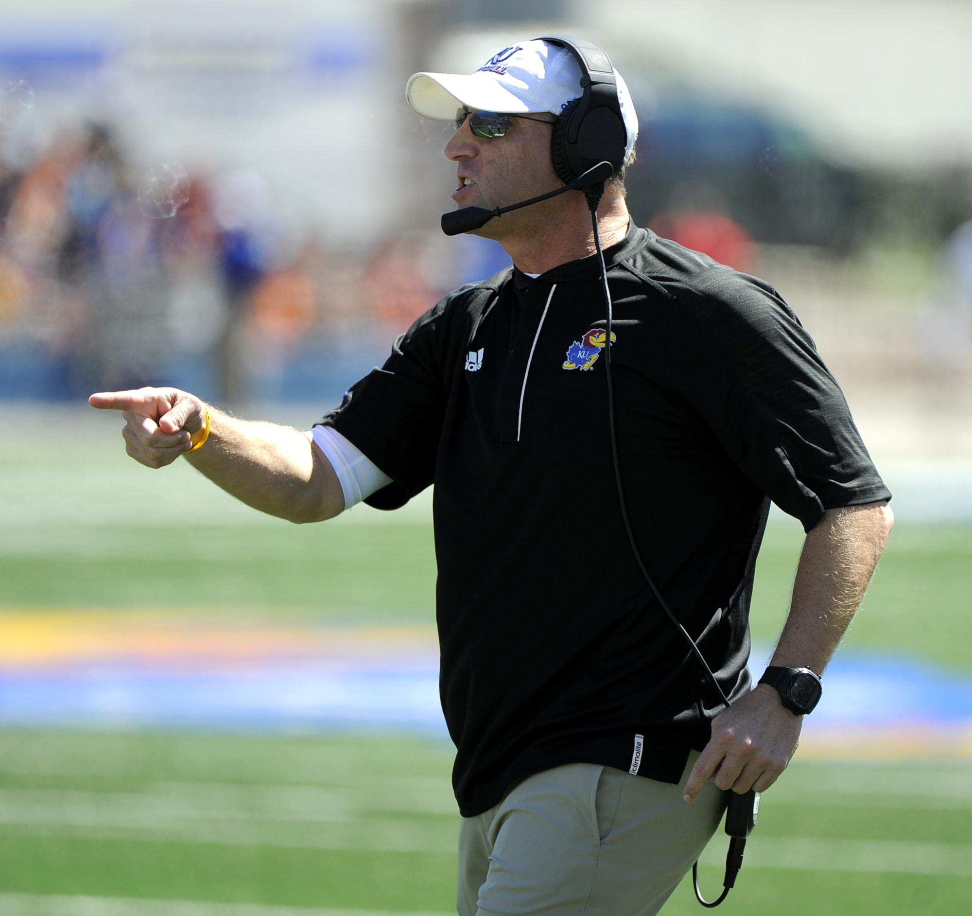 Coaches encouraged by Kansas football teams growth | News