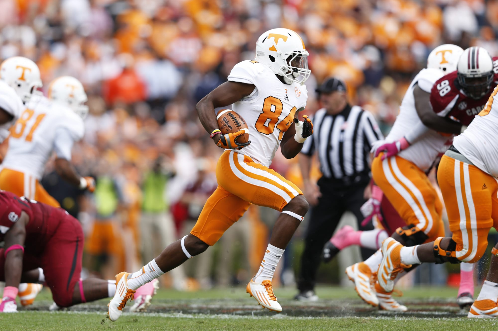 Tennessee football: Former Vols WR Cordarrelle Patterson ties NFL ...