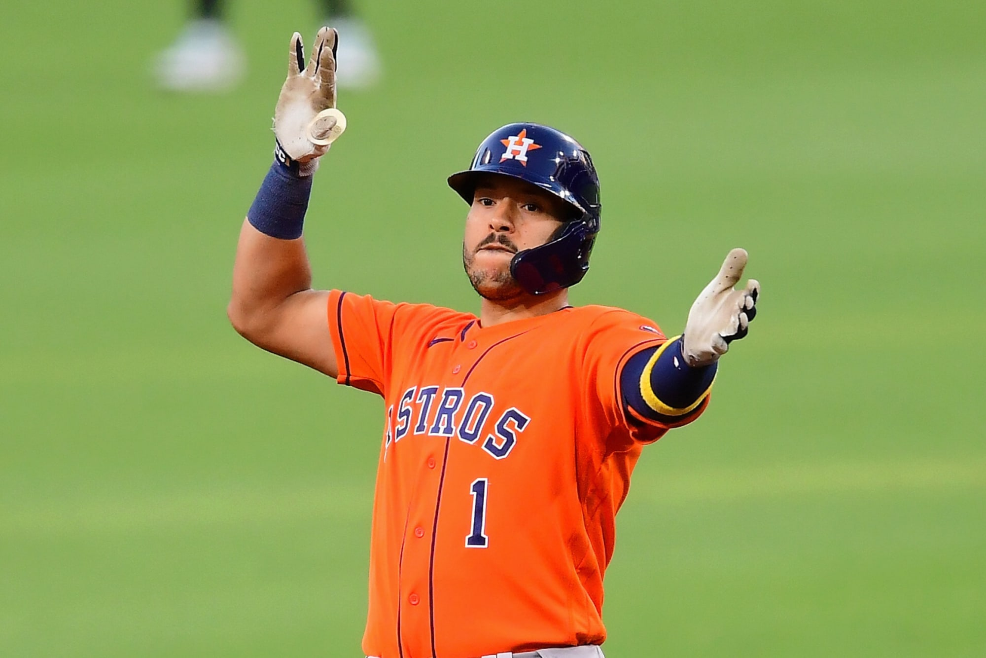 Carlos Correa Houston Astros Spring Training Baseball Player Jersey