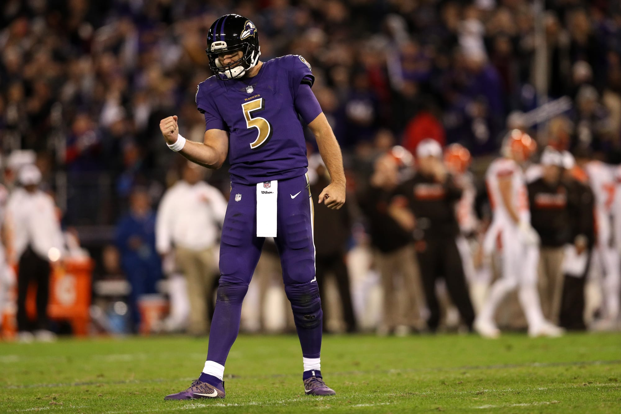 Baltimore Ravens: A look at Thursday's Color Rush uniforms