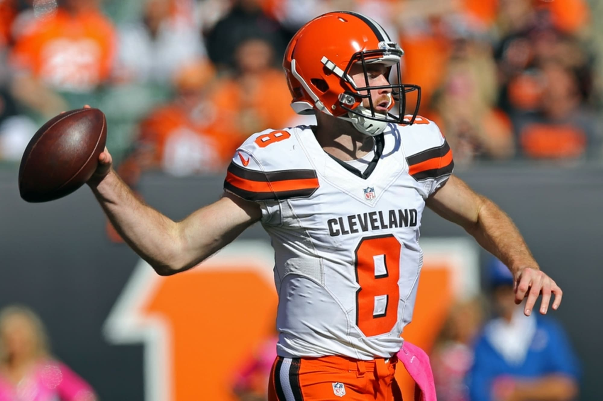 Cleveland Browns: Kevin Hogan Sits Atop The Depth Chart