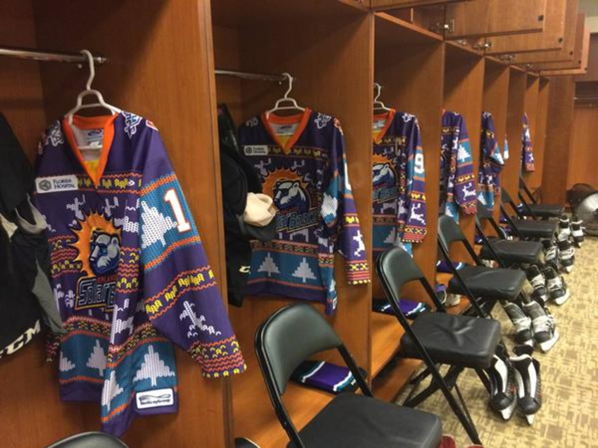 Orlando Solar Bears Unveil Ugly Sweater Jerseys