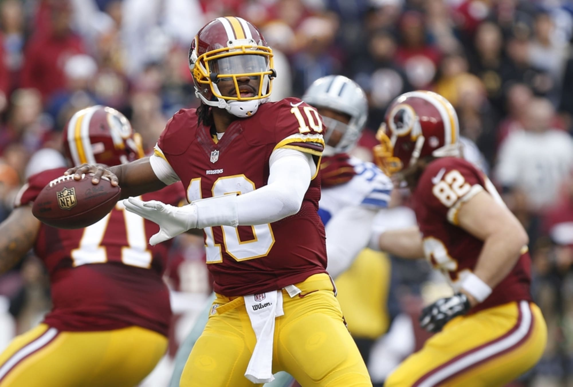 Robert Griffin III Leads Washington Redskins In Jersey Sales For ...