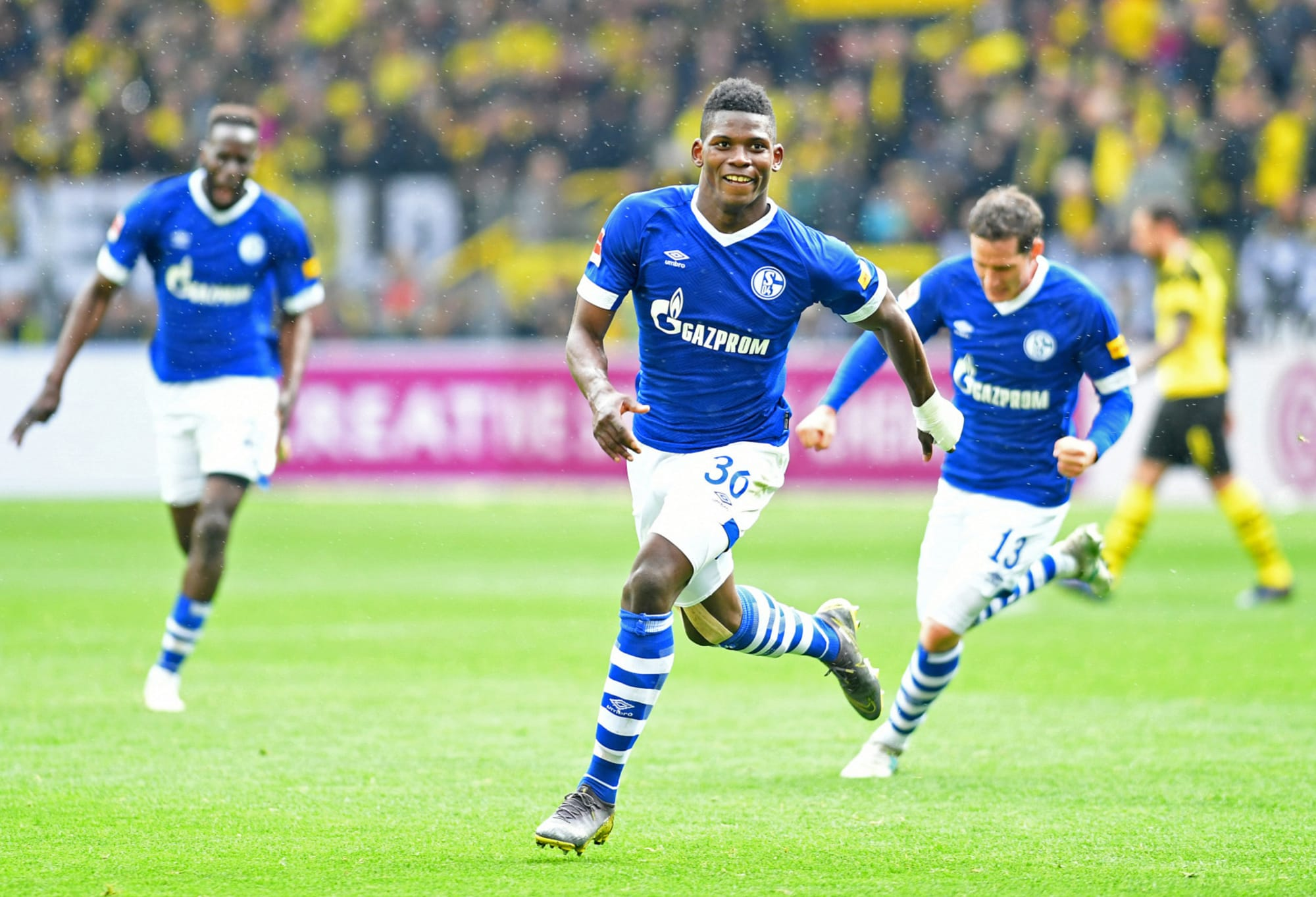 Breel Embolo helps give Schalke hope for the future
