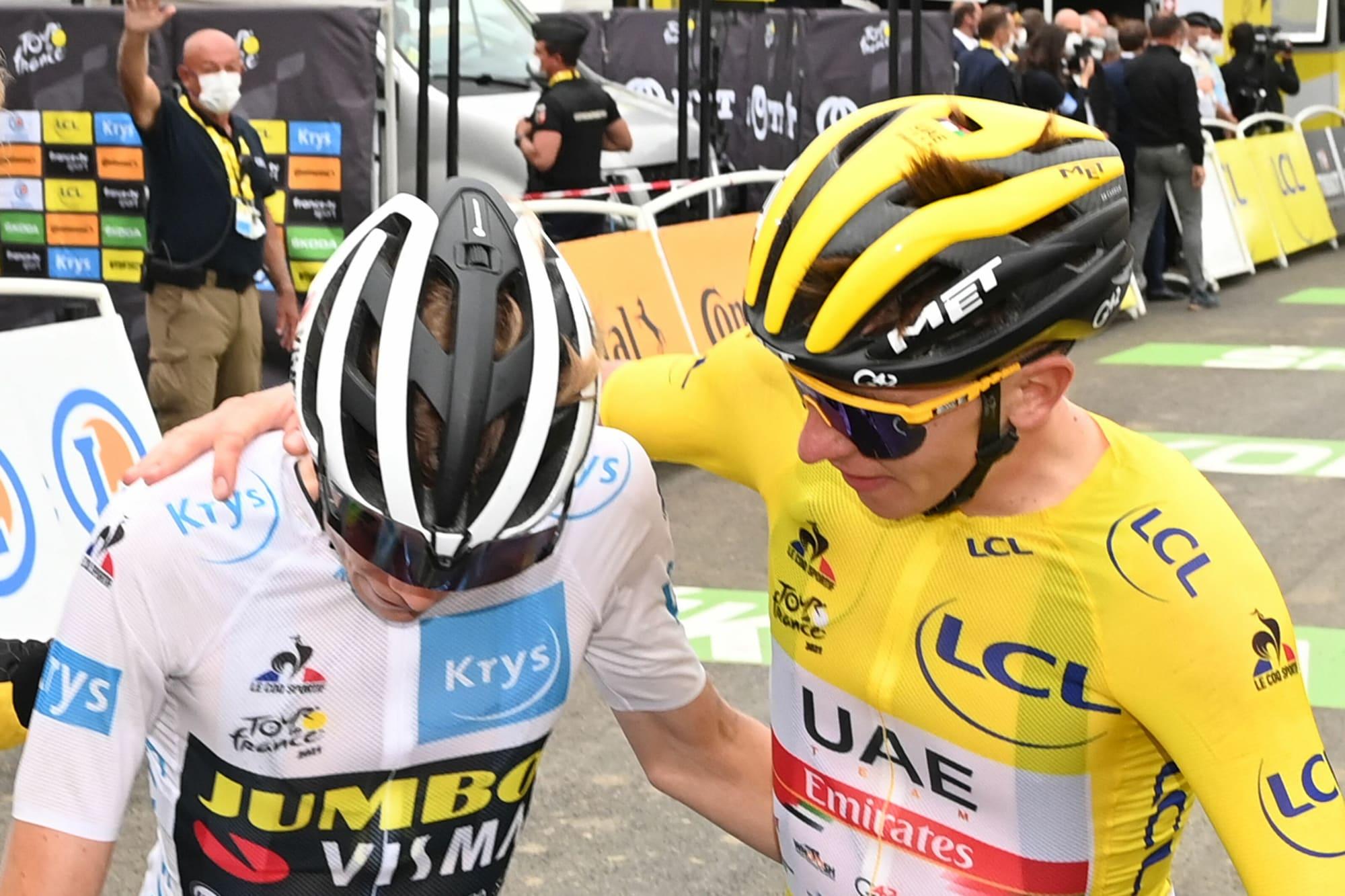 Tour de France jersey leads cemented as Tadej Pogacar wins Stage 18