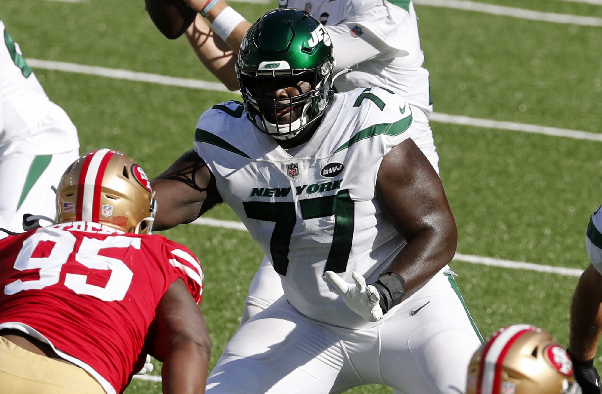 Could Mekhi Becton be a Hall of Fame talent for the Jets?