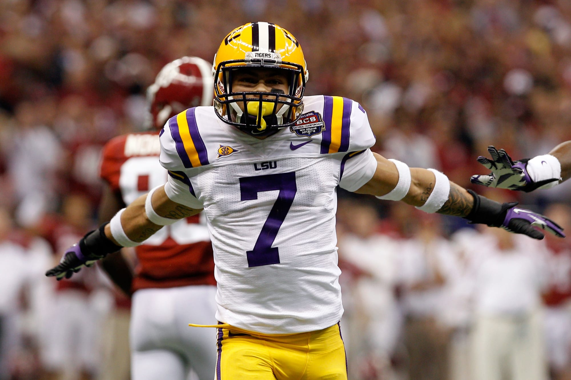 Tyrann Mathieu reveals what wearing No. 7 jersey at LSU meant to ...