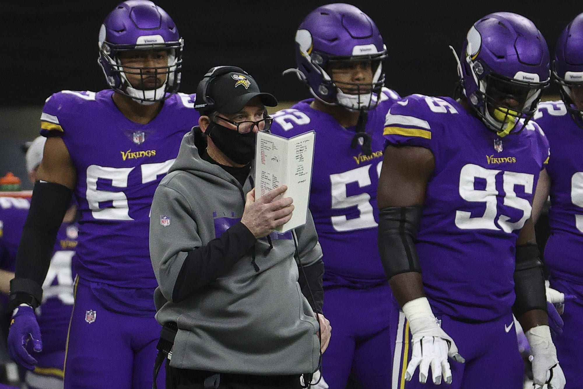 Mike Zimmer says Vikings defense is the worst he's seen in 40 years of coaching