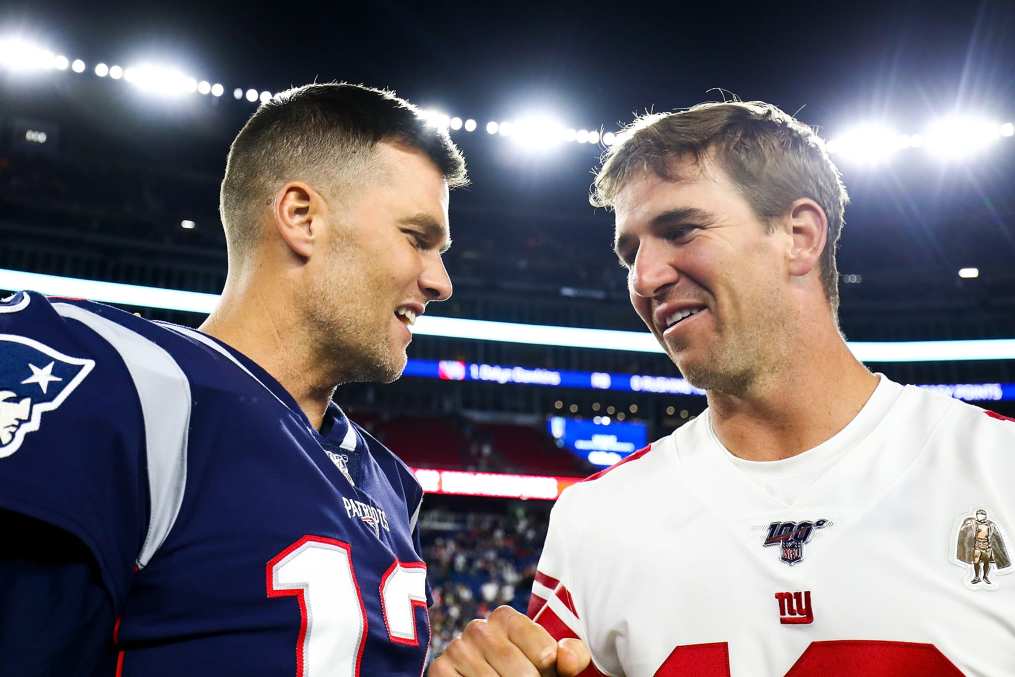 Watch: Tom Brady got roasted by Eli on Manningcast for Super Bowl losses