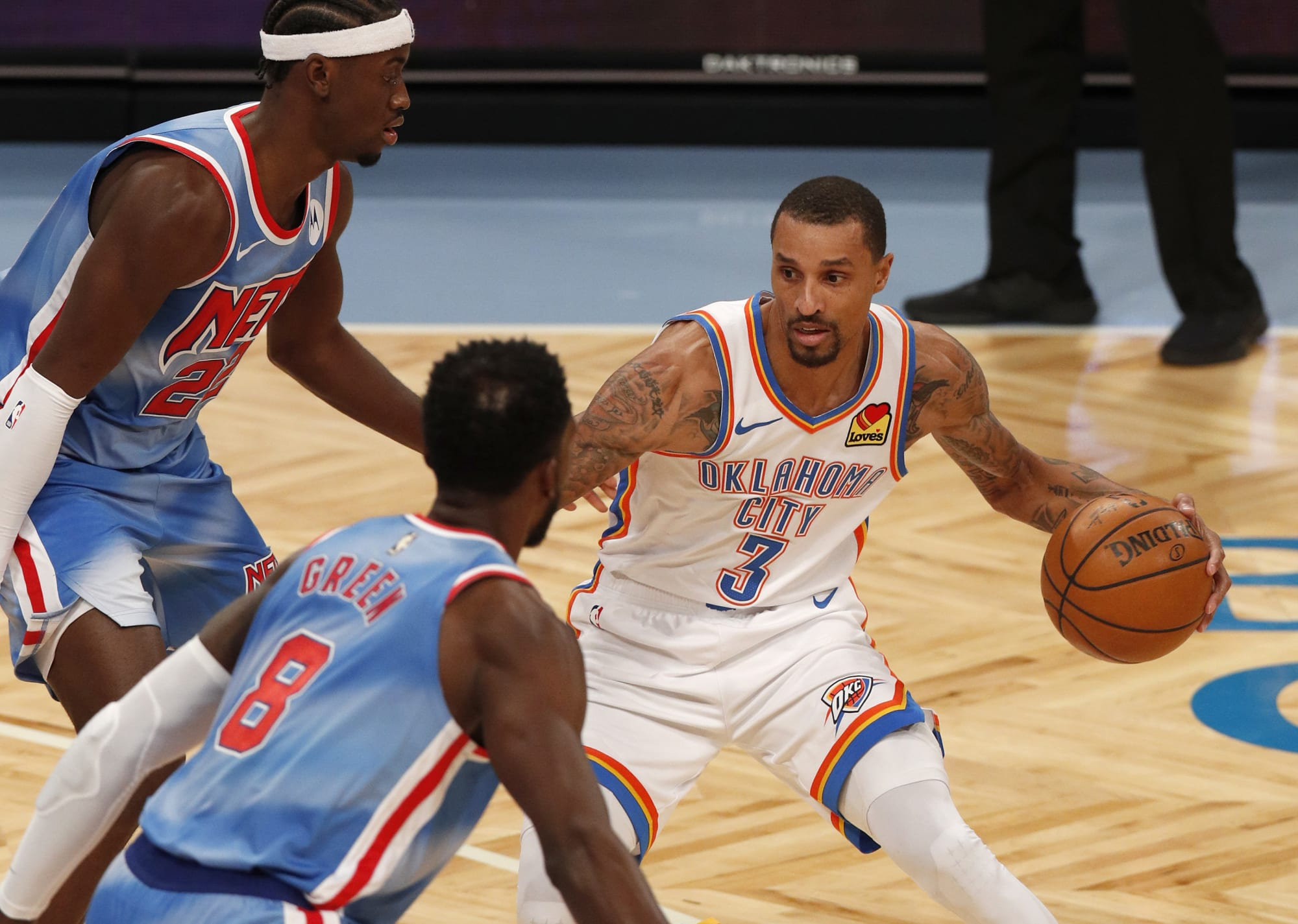 NBA rumors: Thunder's George Hill expected to attract plenty of trade suitors